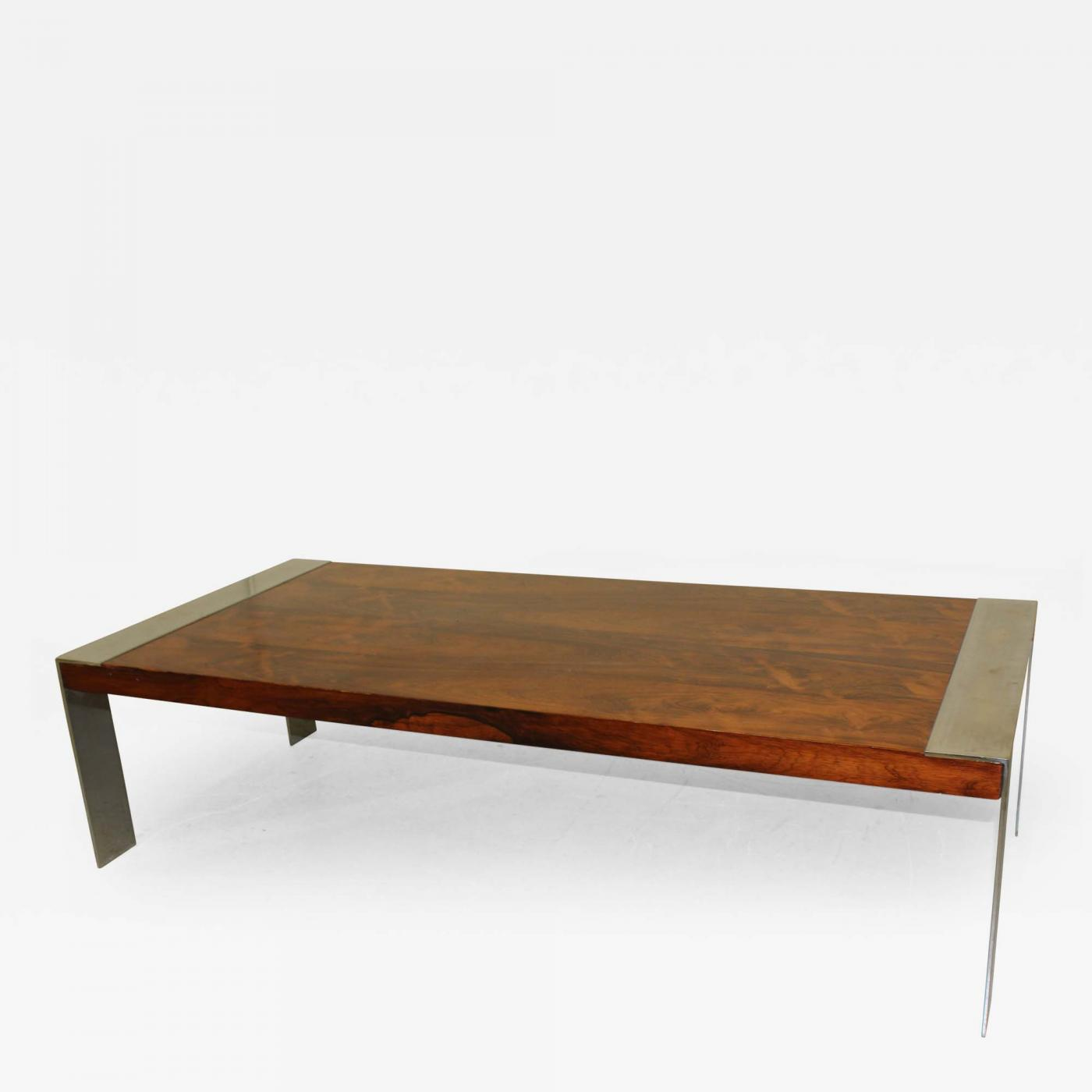 Milo baughman mid century modern coffee table for Modern coffee table