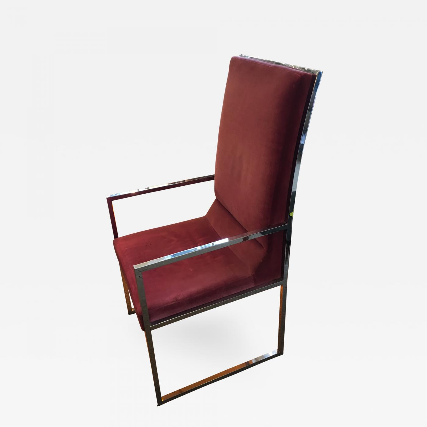 Milo Baughman Milo Baughman Dining Chairs Set of 6