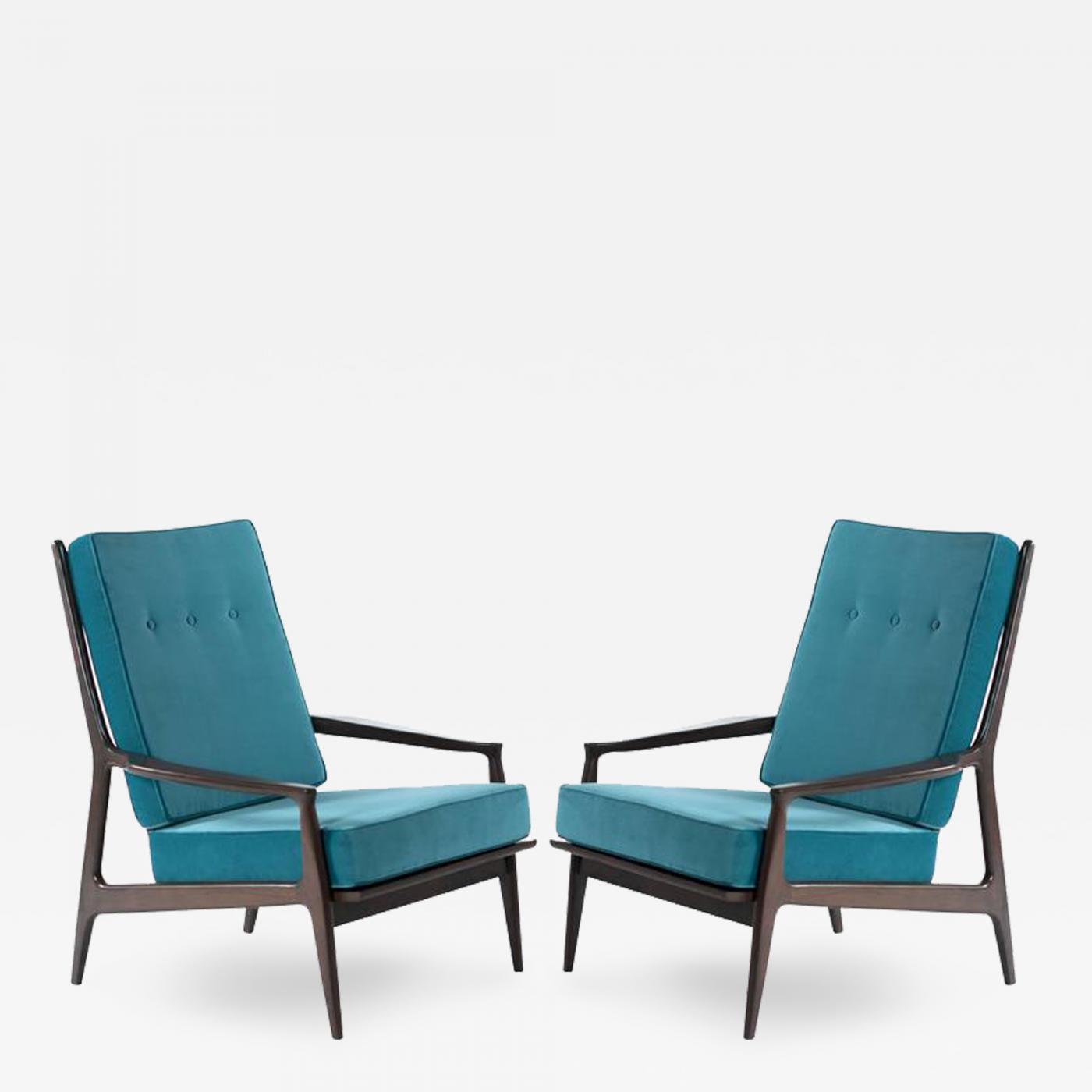 milo baughman milo baughman or thayer coggin archie lounge chairs