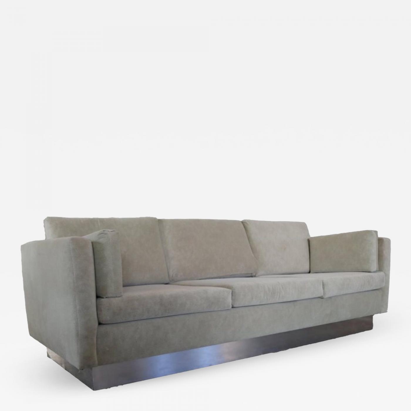 Listings / Furniture / Seating / Sofas · Milo Baughman Tuxedo Sofa In Milo  Baughman Style