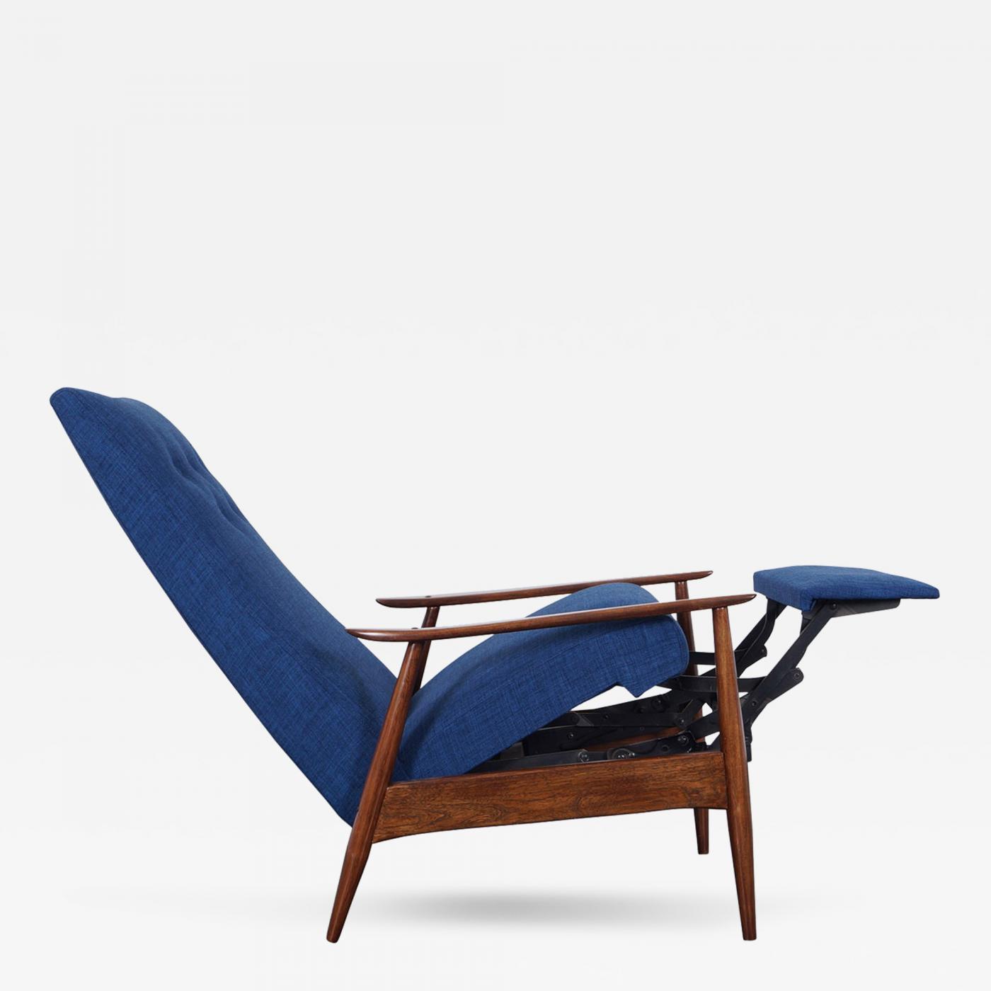 Milo Baughman Vintage Reclining Lounge Chair by Milo Baughman