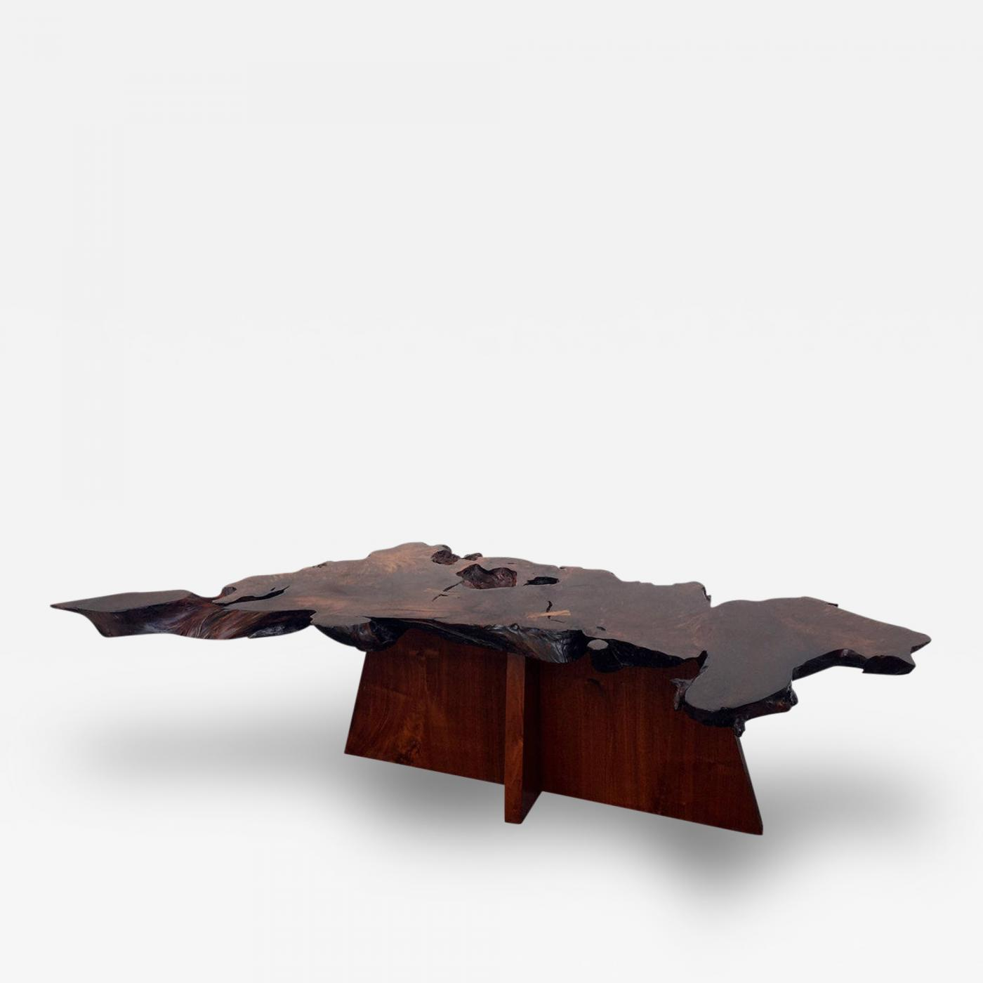 Mira Nakashima Rare and Exceptional Walnut and Redwood Root