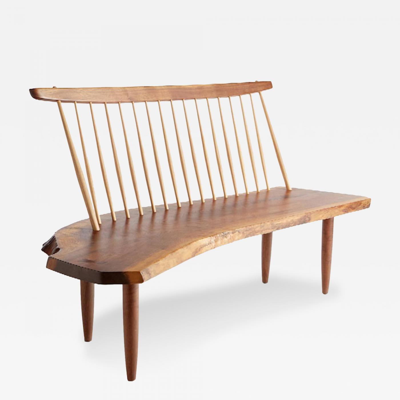 Mira Nakashima Mira Nakashima Spindle Back Bench