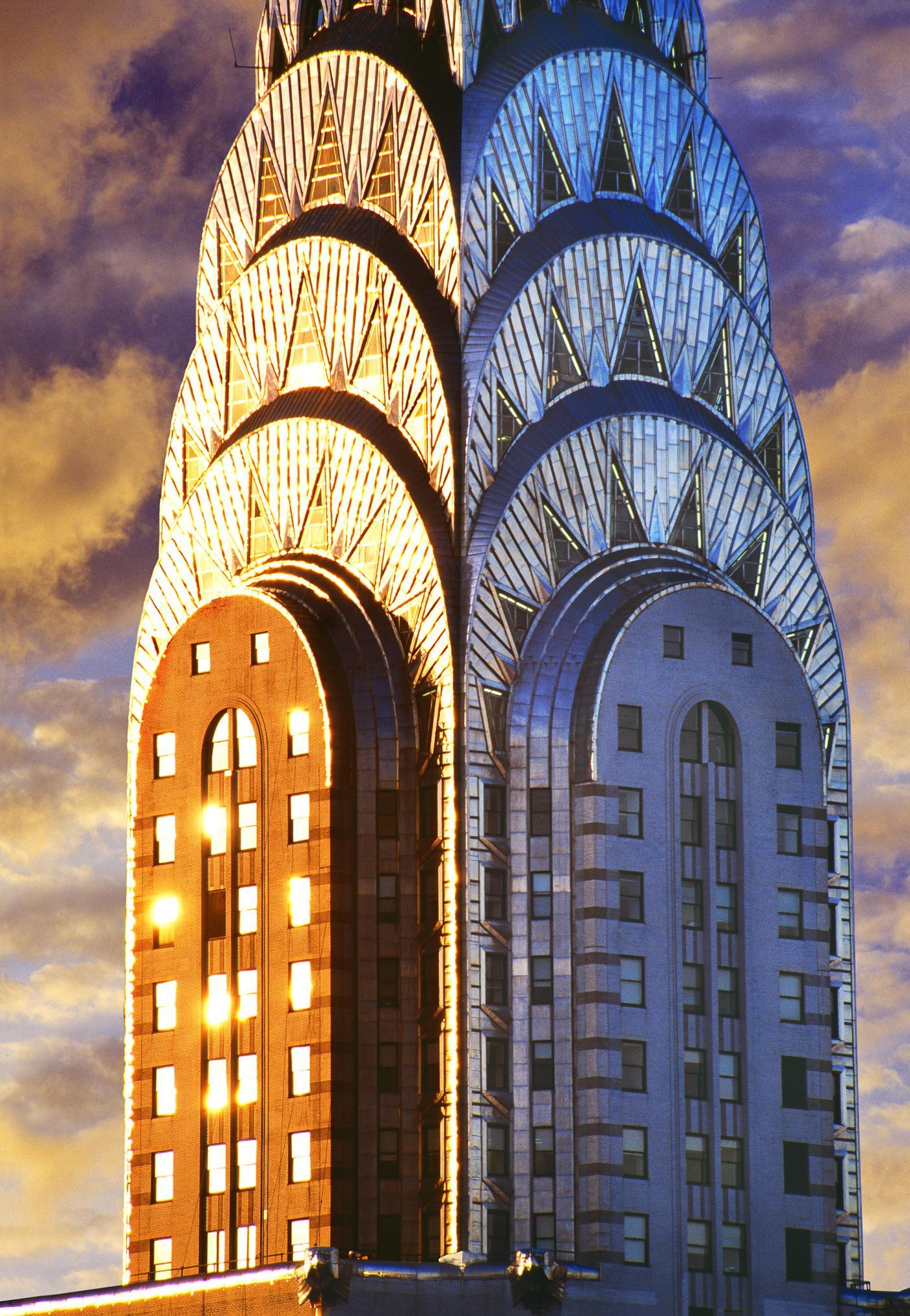 Mitchell Funk - Chrysler Building Art Deco Skyscraper