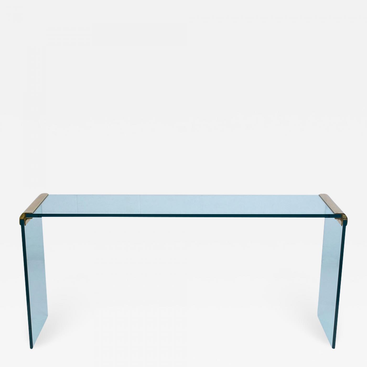 Fantastic Modern Chrome Glass Console Table Inzonedesignstudio Interior Chair Design Inzonedesignstudiocom