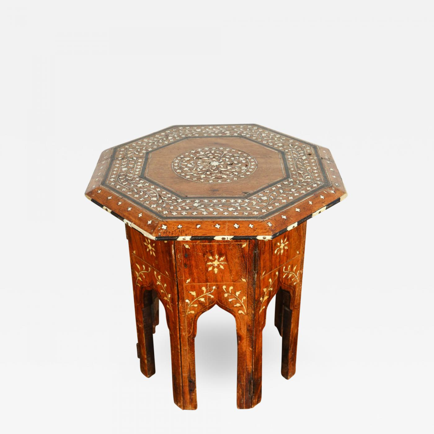 Listings / Furniture / Tables / Tea Tables · Octagonal Anglo Indian Side ...
