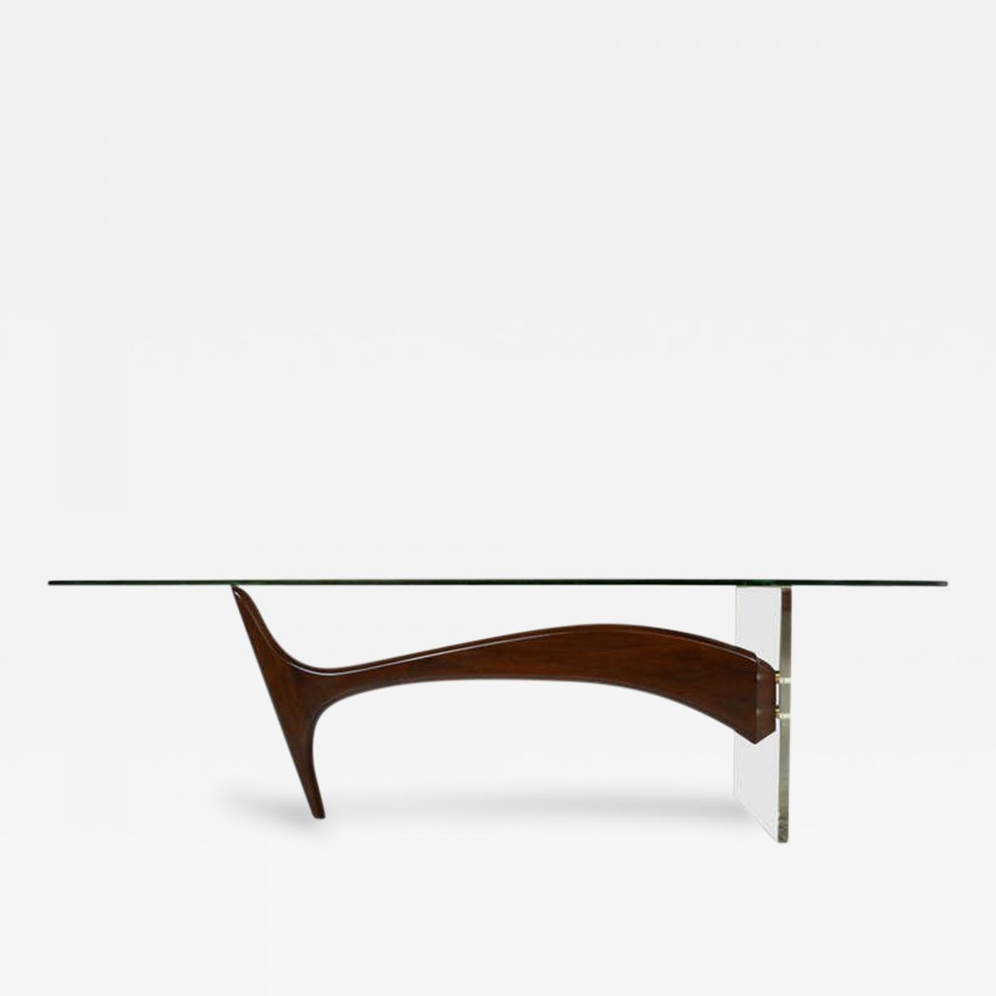 Kagan Coffee Table.Omnibus Coffee Table In The Manner Of Vladimir Kagan