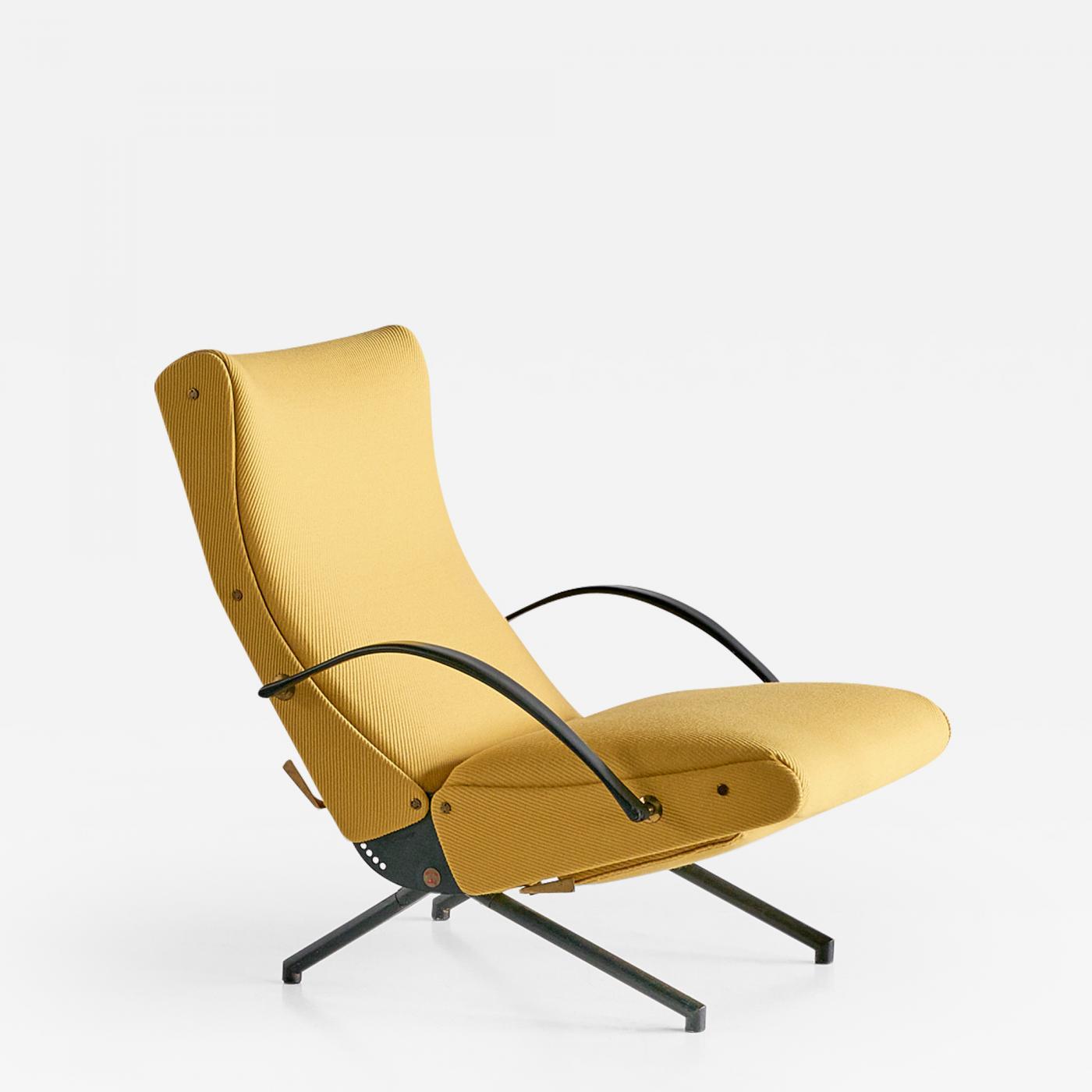 Osvaldo Borsani P40 Lounge Chair, First Edition for Tecno