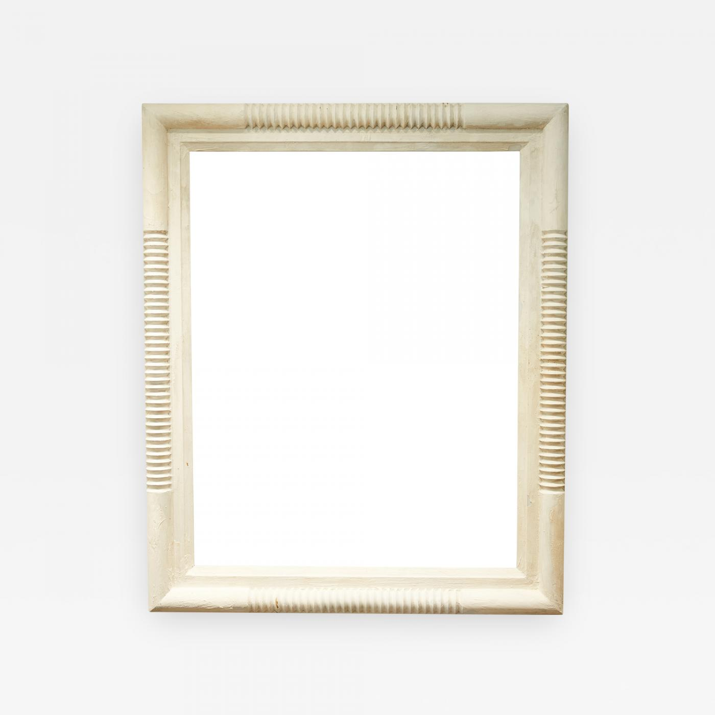 Oversized Wood Frame Mirror