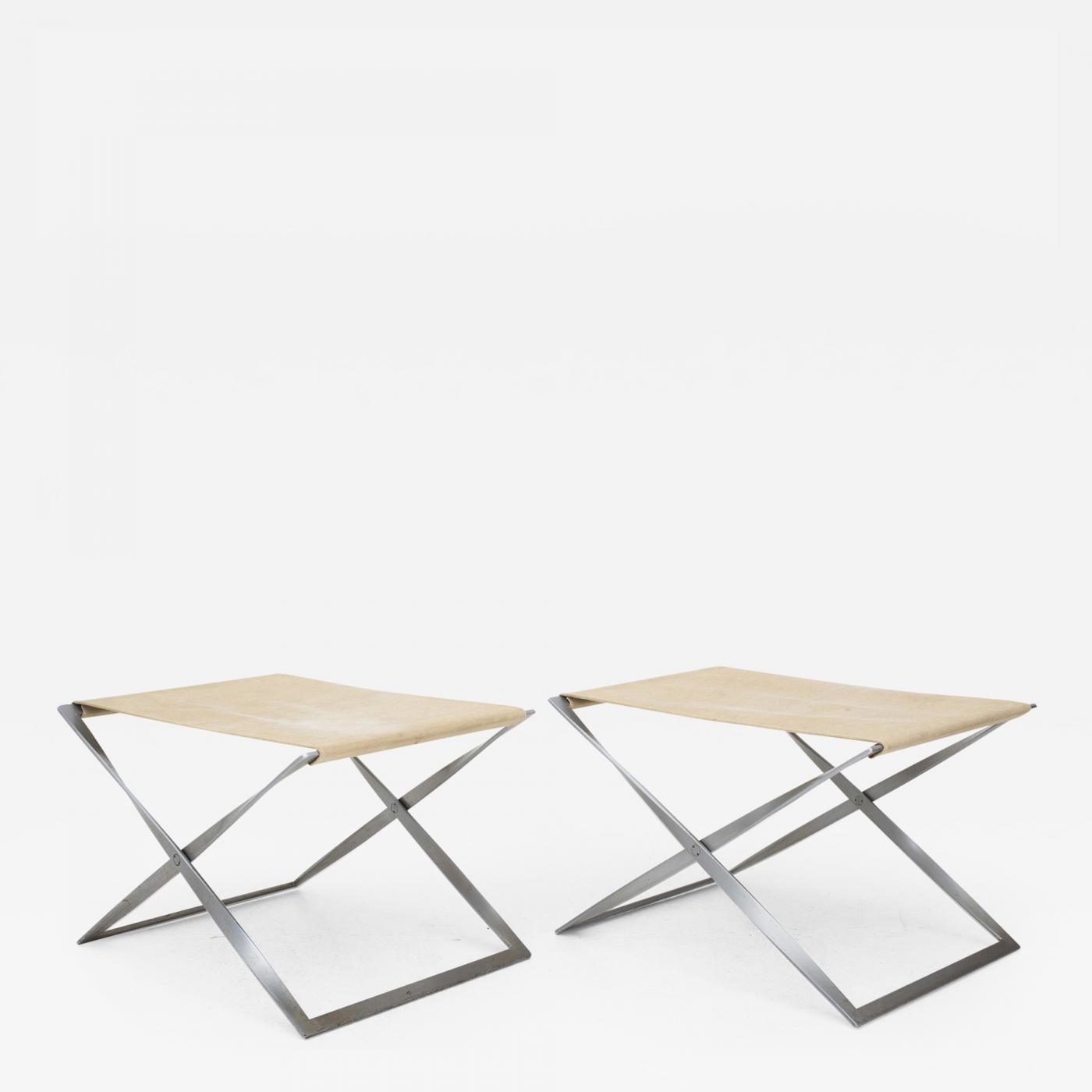 Fabulous Pk 91 Folding Stool In Canvas Camellatalisay Diy Chair Ideas Camellatalisaycom