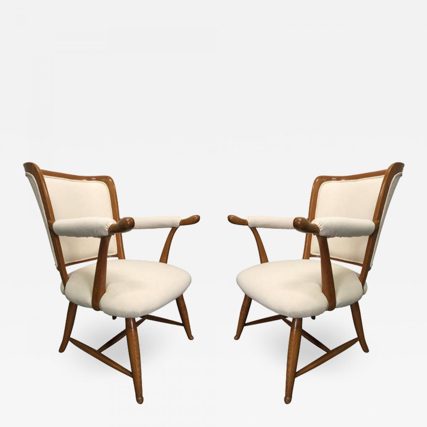 Stupendous Pair Of 1950S French Country Armchairs Caraccident5 Cool Chair Designs And Ideas Caraccident5Info