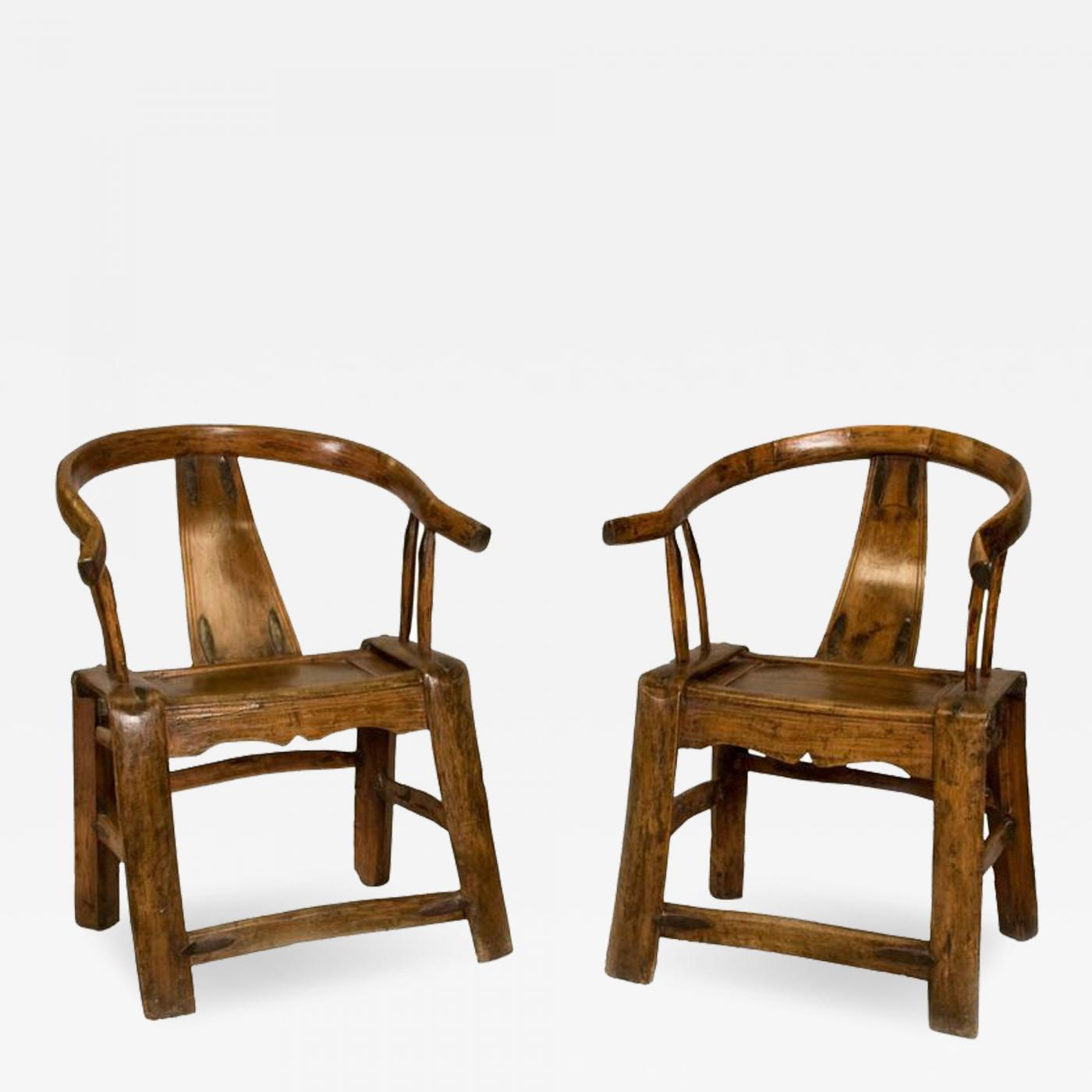 ... Chinese Yoke Back Chairs. More Images Want More Images?