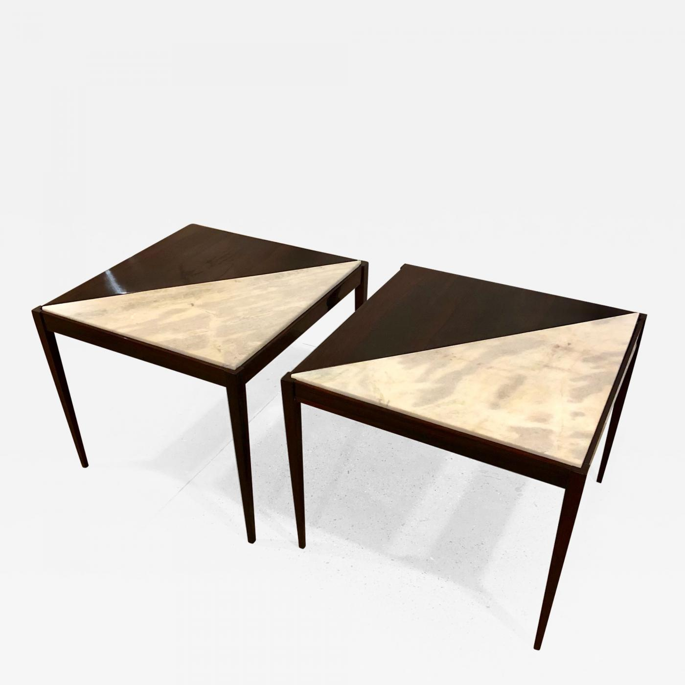 Pair Of Mid Century Modern Side Tables