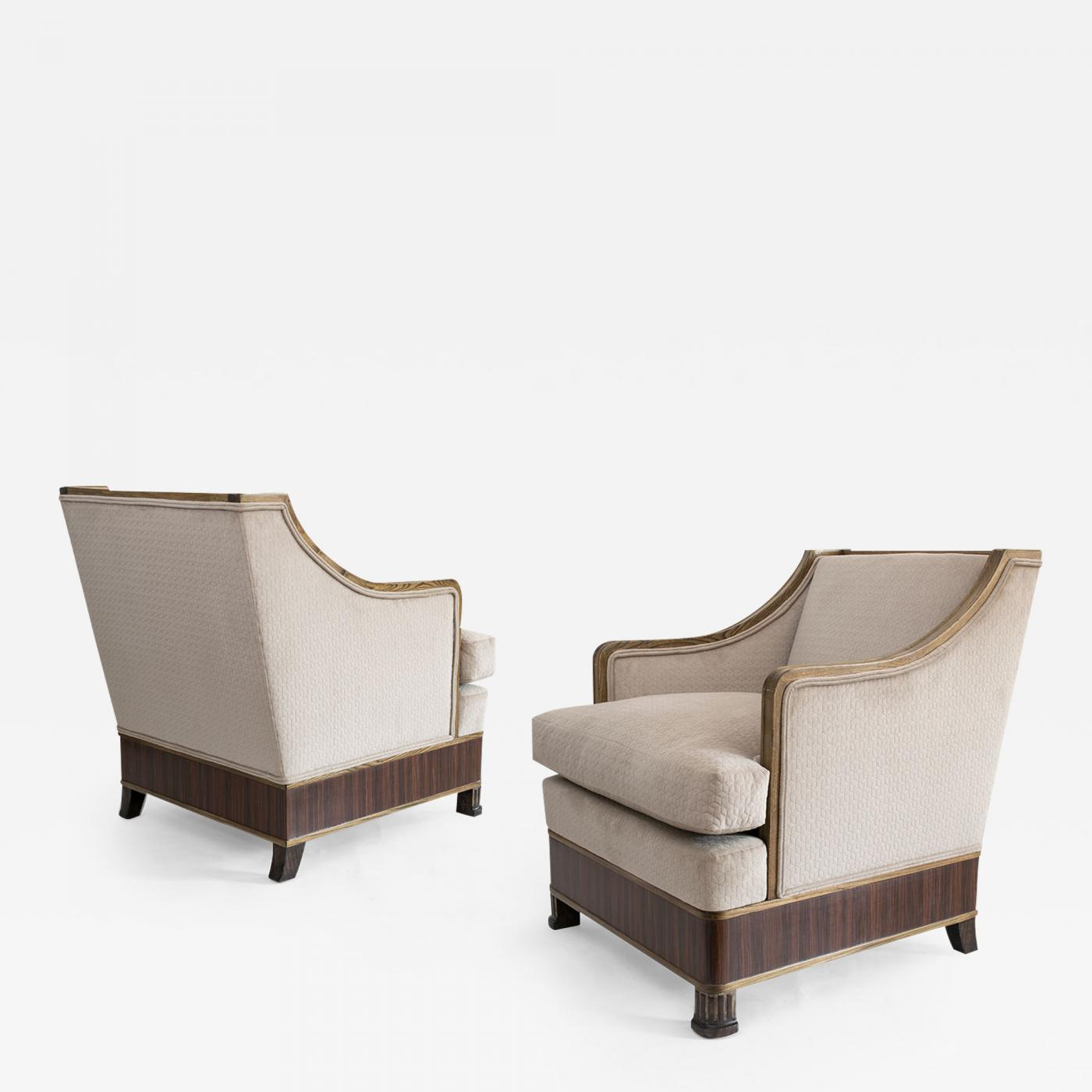 Listings Furniture Seating Armchairs Pair Of Swedish Art Deco