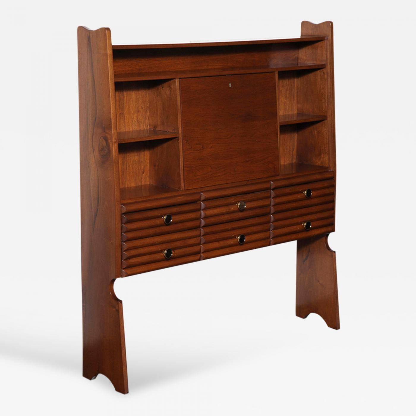 table pamono saginaw at from century walnut bookcase bookcases for per mid sale piece price