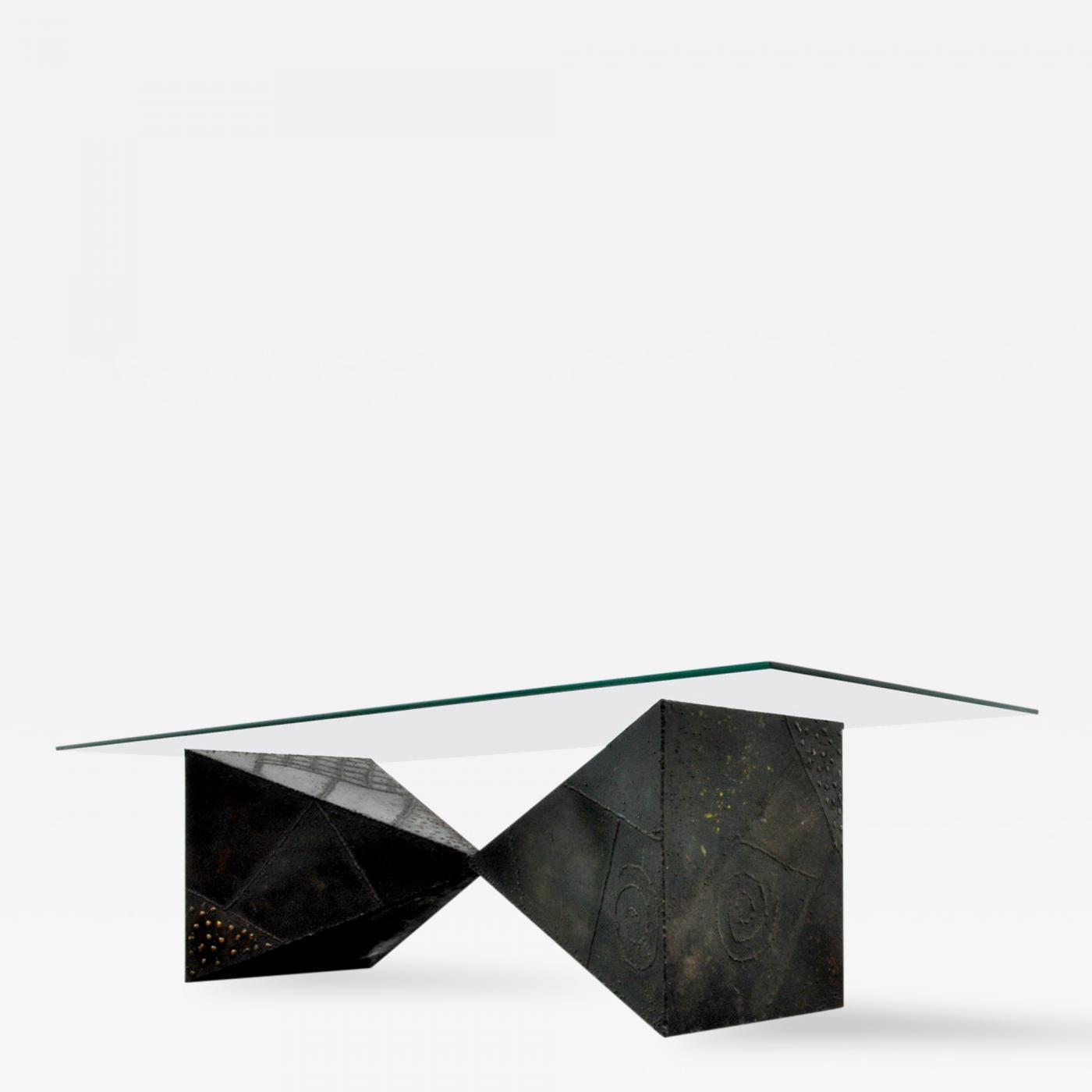 """Paul Evans Paul Evans """"Pyramid"""" Coffee Table 1969"""