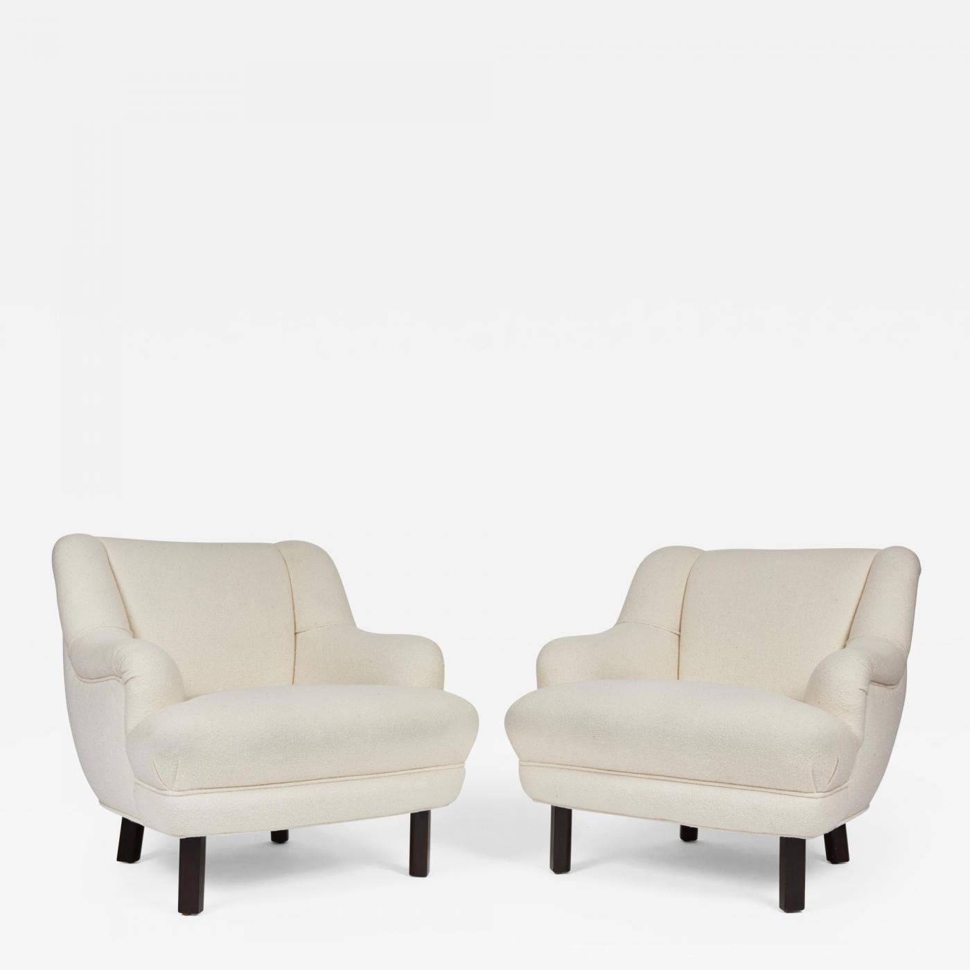 Genial Paul L Szl Pair Of Custom Paul L Szl Lounge Chairs