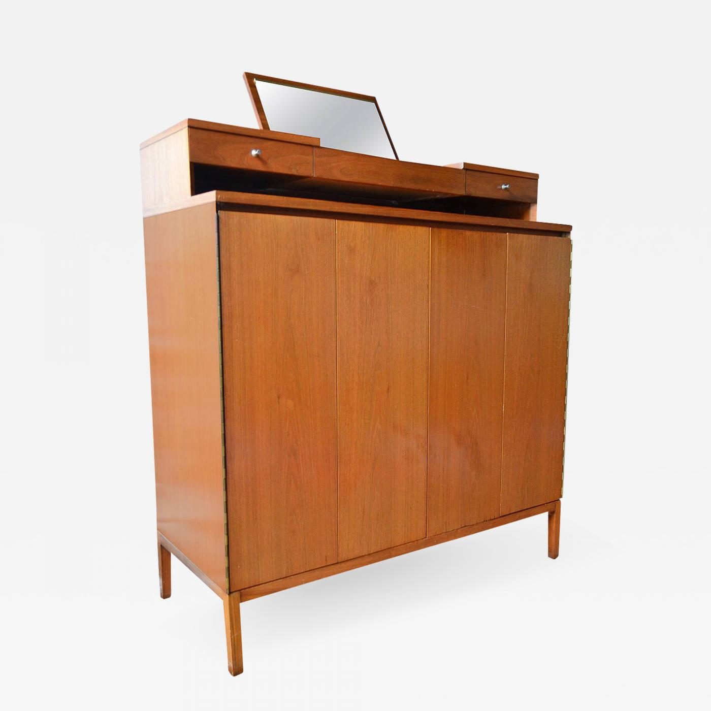 Paul McCobb Irwin Collection For Calvin Furniture Gentlemanu0027s Tall Chest,  1956
