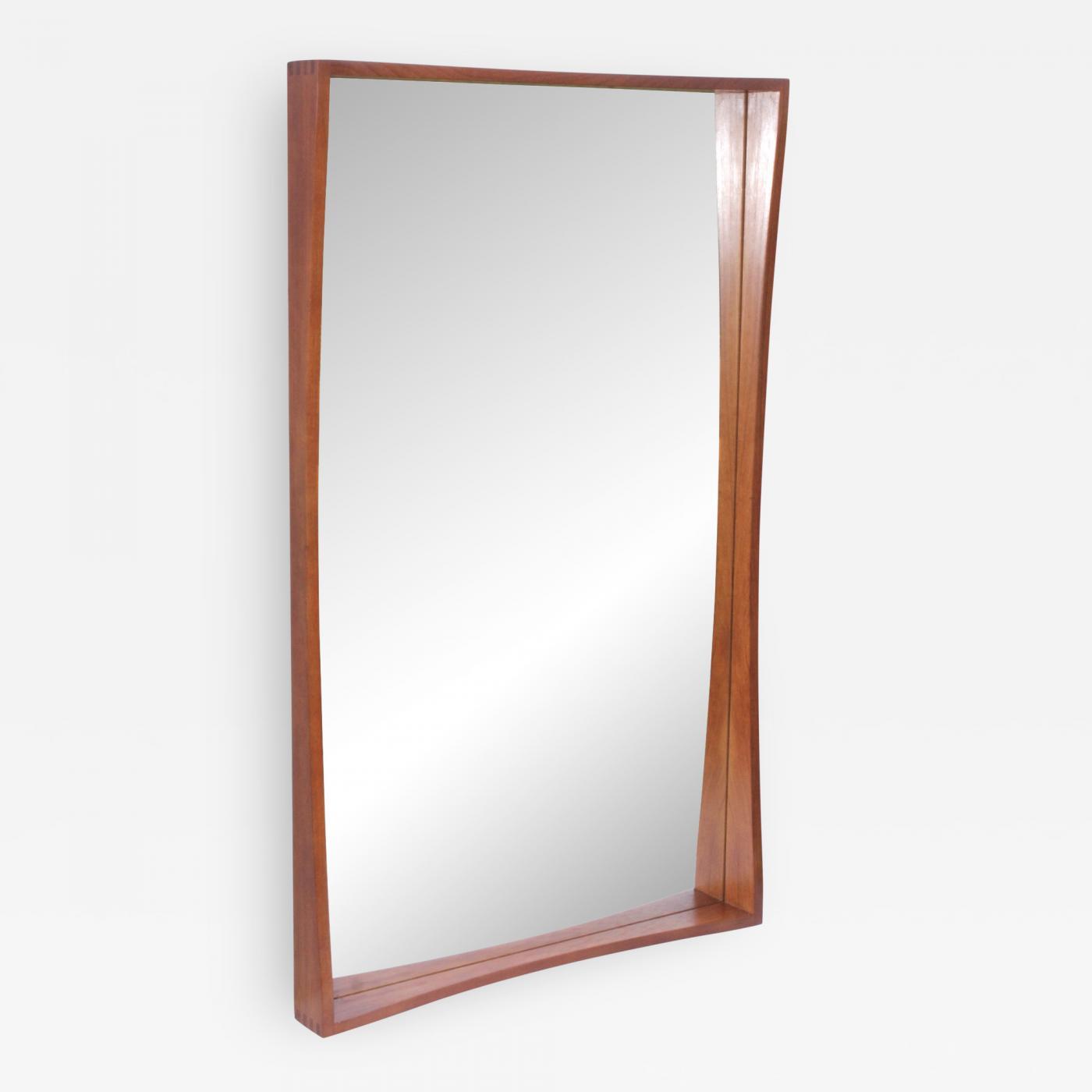 Pedersen Hansen Pedersen Hansen Teak Wall Mirror