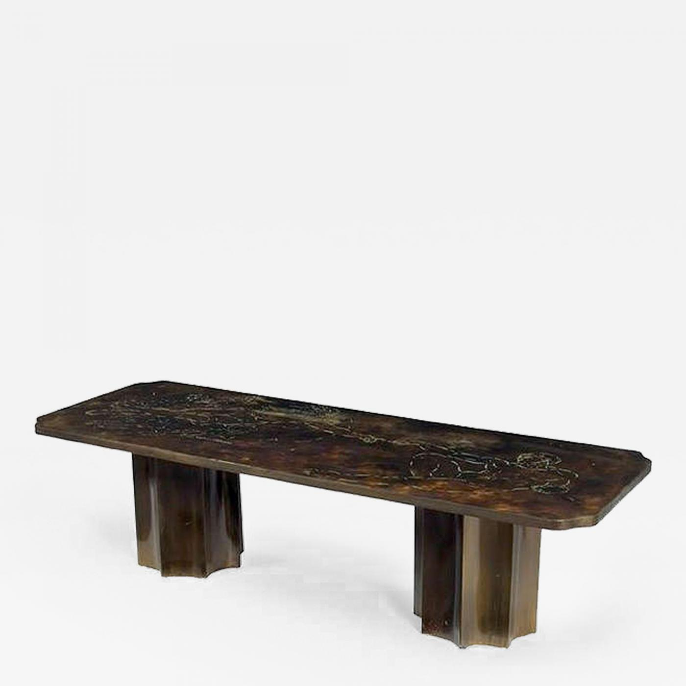 Philip kelvin laverne bronze coffee table phillip and kelvin laverne Bronze coffee tables