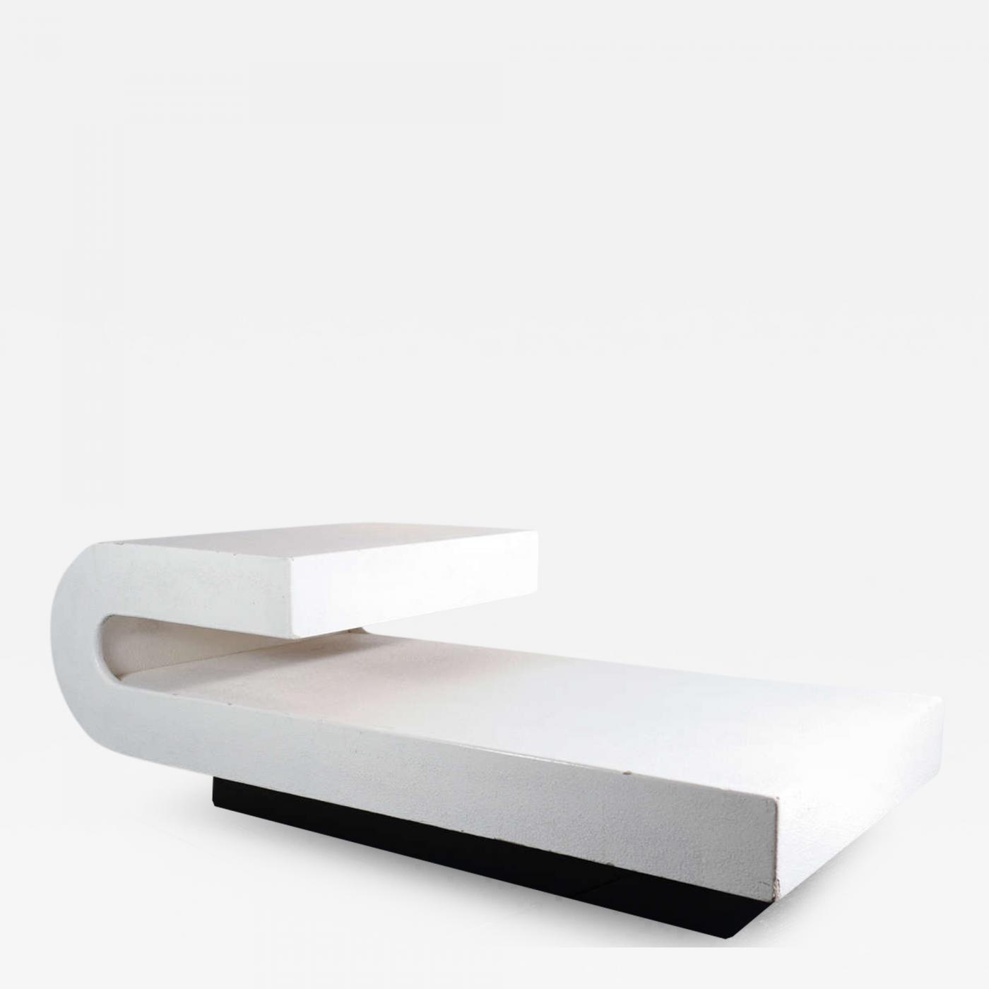 Pierre Cardin Very Rare Pierre Cardin Wave Coffee Table