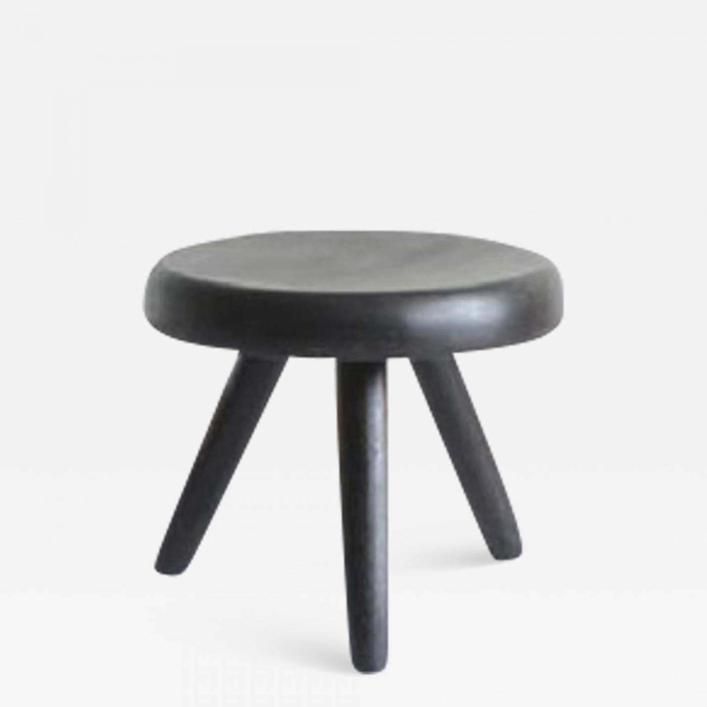 Enjoyable Pierre Jeanneret Charlotte Perriand Three Legged Stool Inzonedesignstudio Interior Chair Design Inzonedesignstudiocom