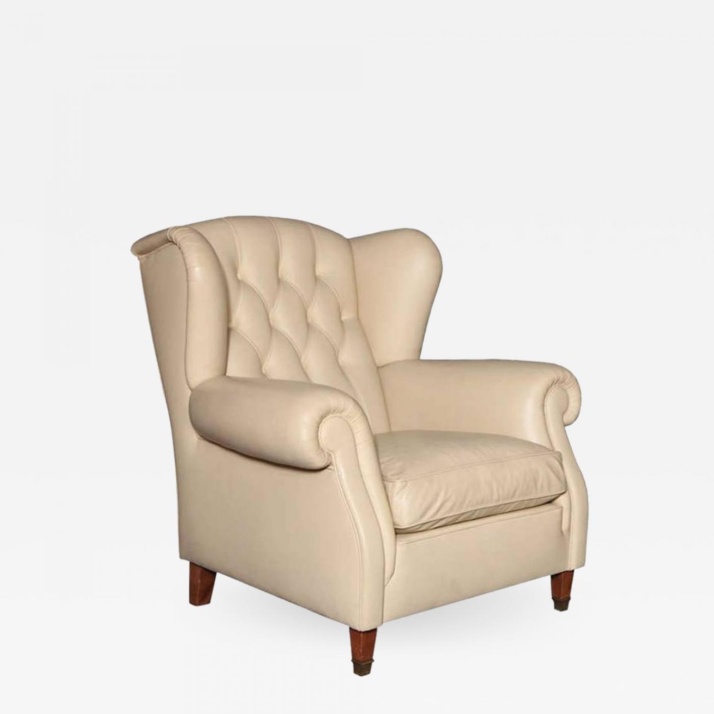 Poltrona Frau Poltrona Frau Leather Armchair