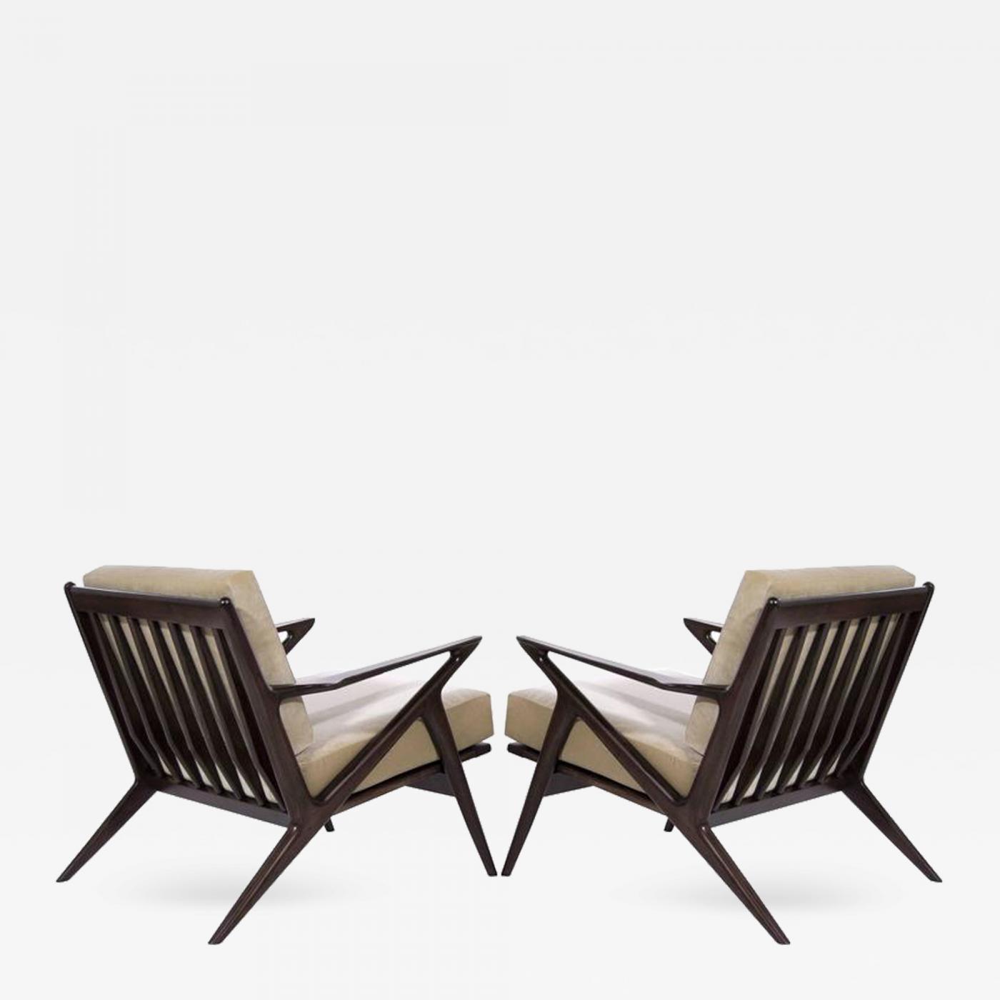 Poul jensen poul jensen for selig z lounge chairs denmark - Poul jensen z chair ...