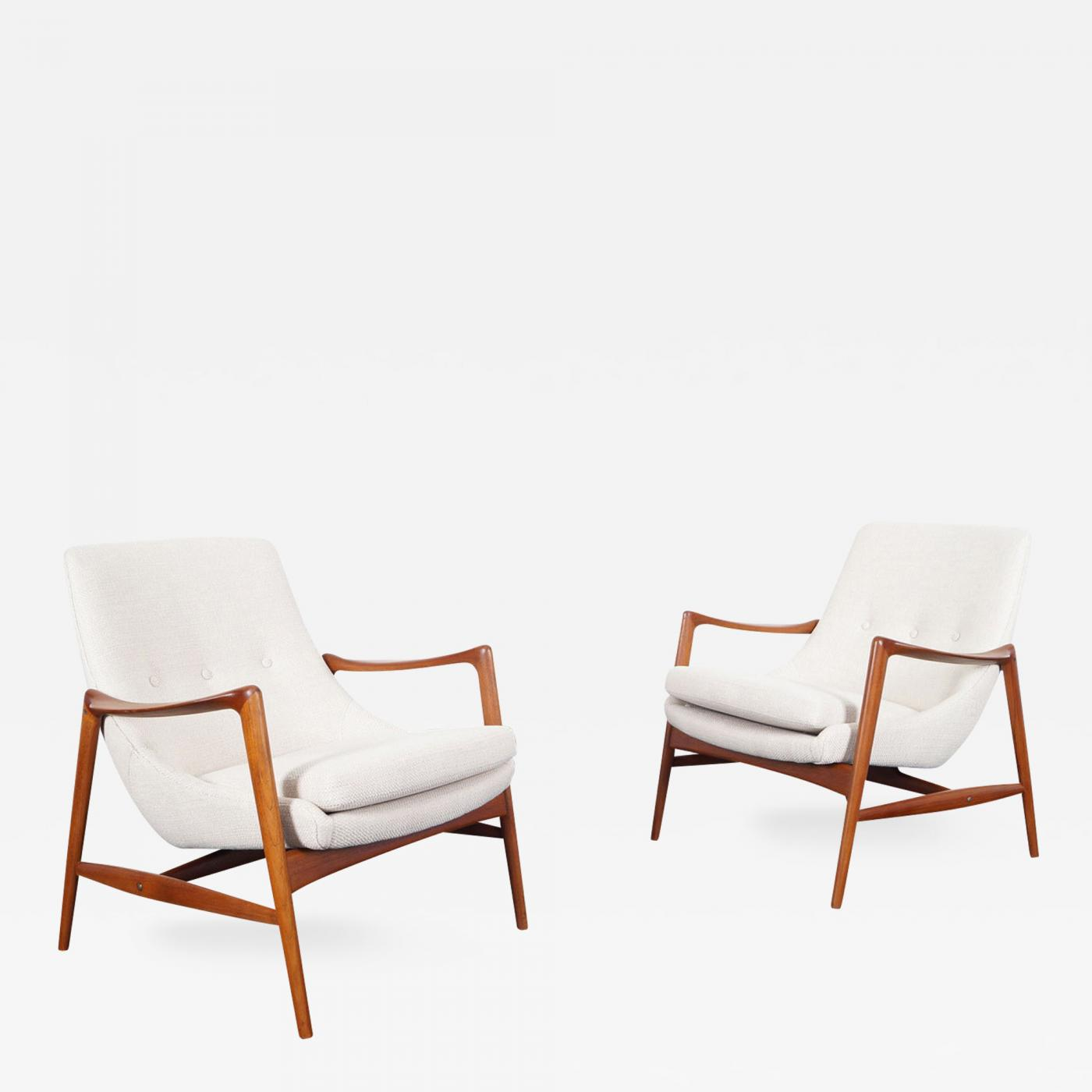 Listings / Furniture / Seating / Armchairs · Rastad Relling Norwegian Teak Lounge Chairs ... & Rastad u0026 Relling - Norwegian Teak Lounge Chairs by Peter Wessel