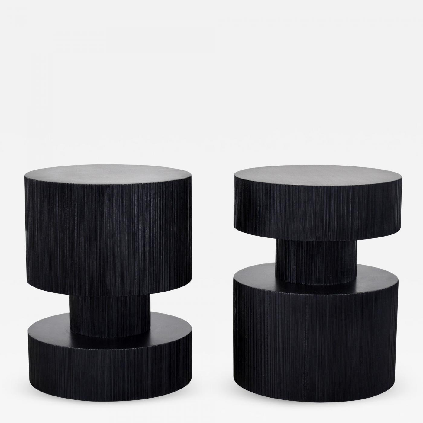 Coffee Table With Stools.John Eric Byers Revert End Tables Stools By John Eric Byers