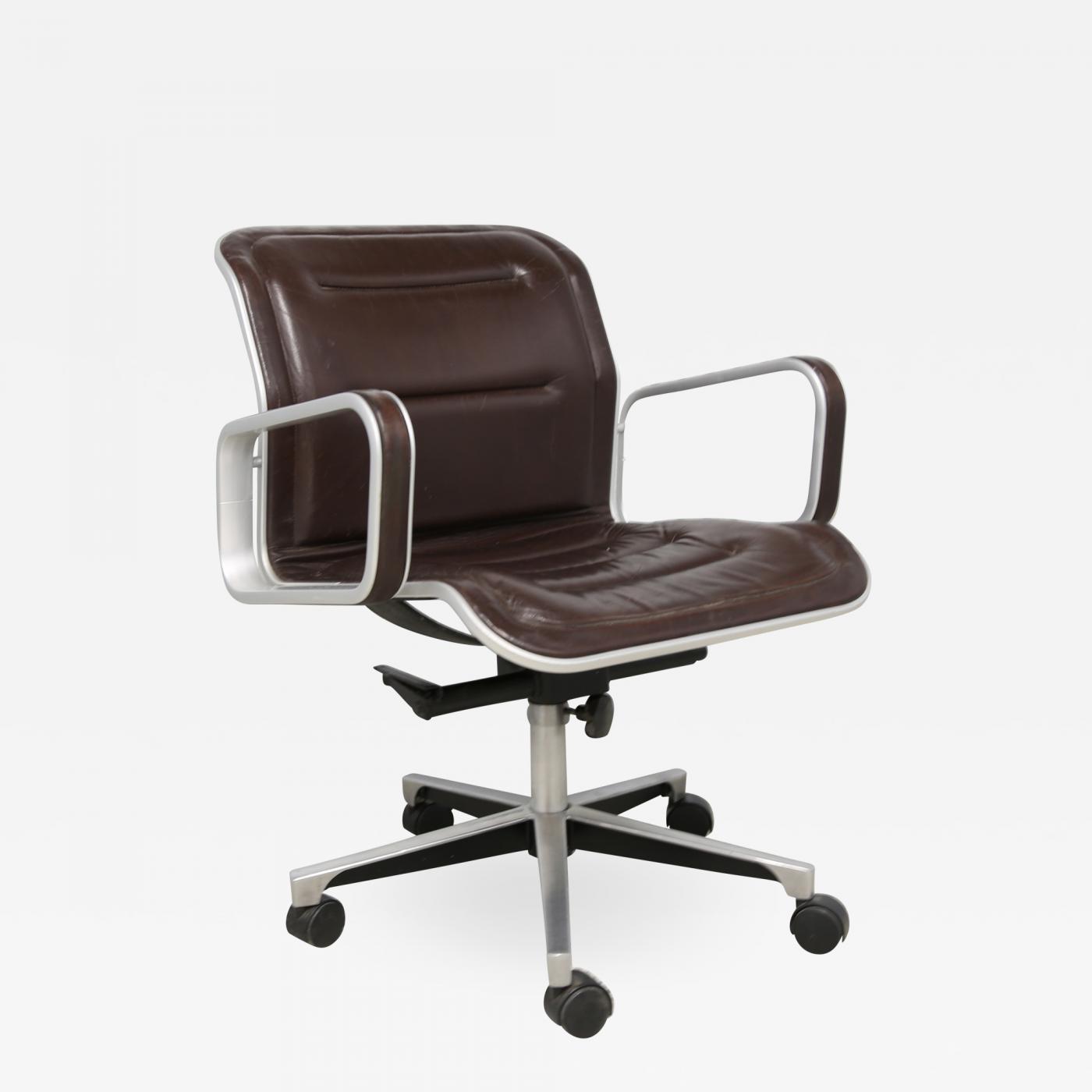 Fine Ring Mekanikk Norway Aluminum And Leather Swivel Desk Chair Pdpeps Interior Chair Design Pdpepsorg