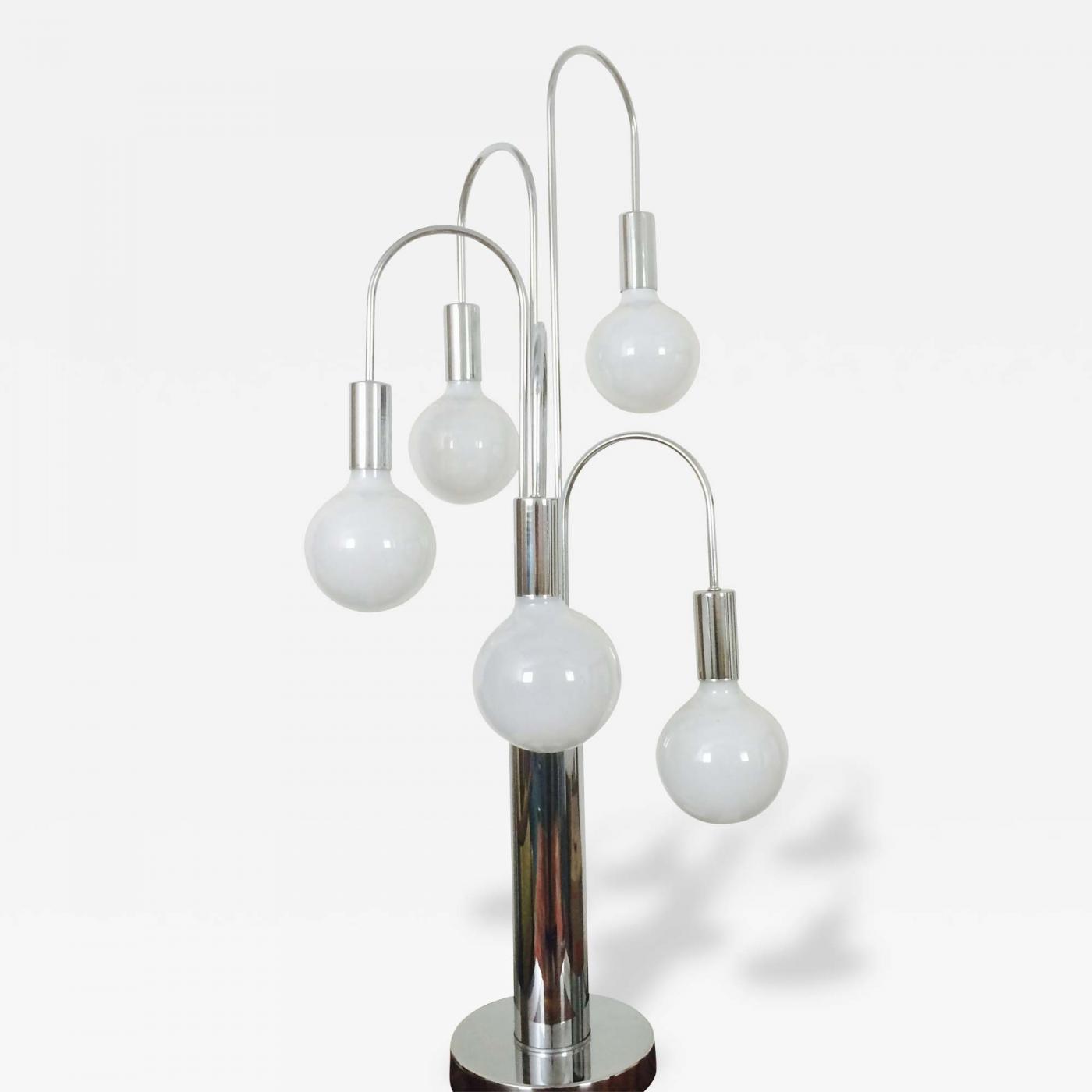 Robert Sonneman Waterfall Table Lamp By Laurel
