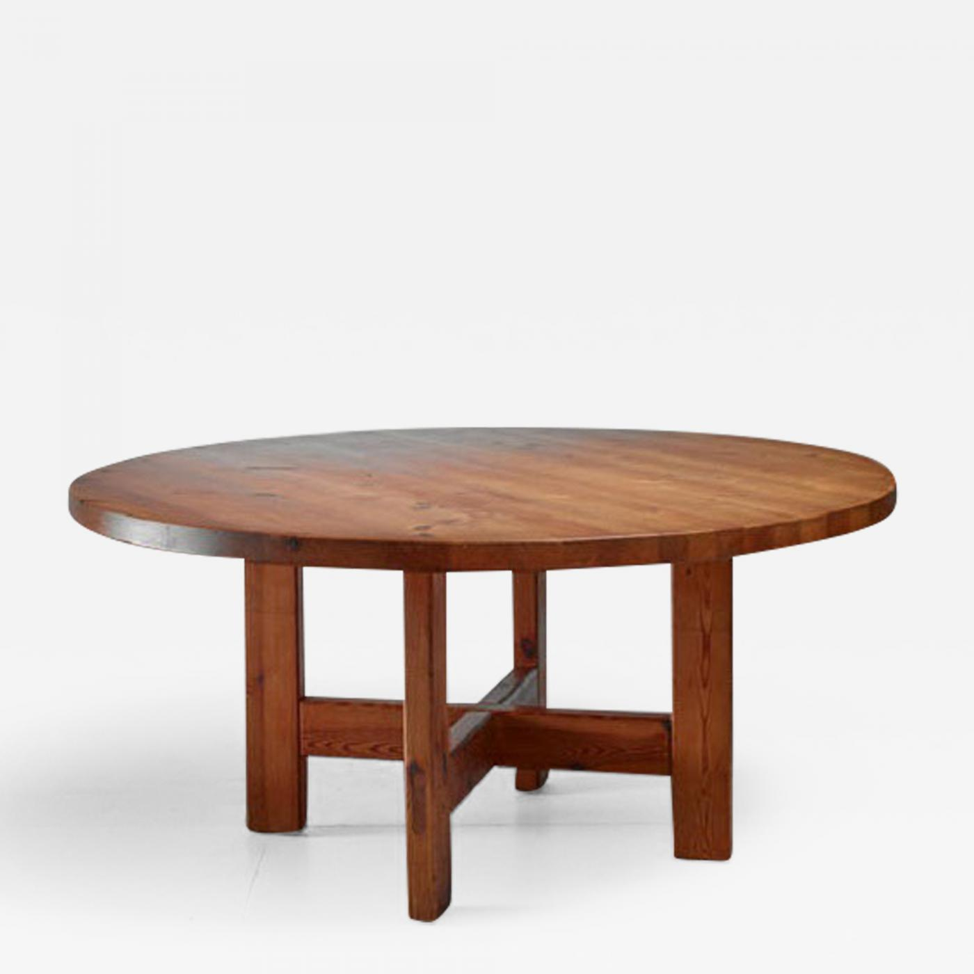 Roland Wilhelmsson Pine Table, Sweden, 1960s