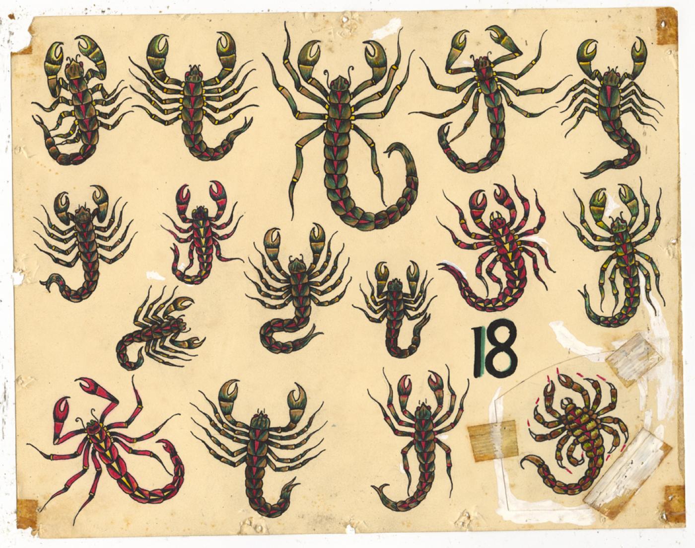 Rosie Camanga - Untitled (Scorpions)