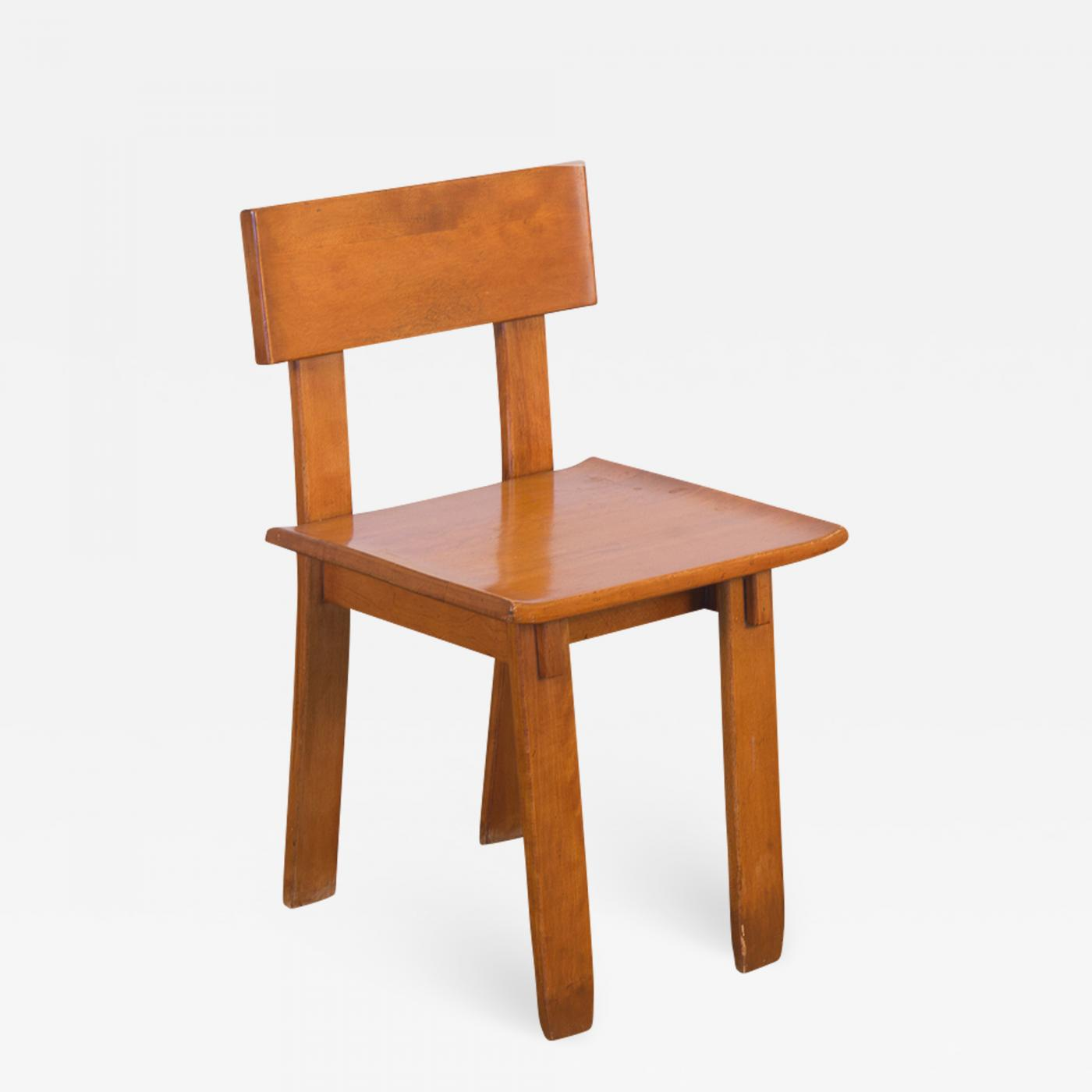 Fabulous Russel Wright 1935 Russel Wright American Modern Side Chair Download Free Architecture Designs Itiscsunscenecom