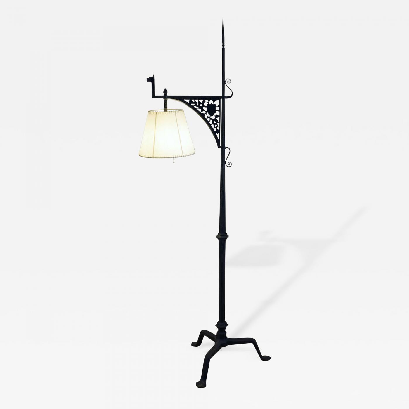 Samuel yellin gothic floor lamp listings furniture lighting floor lamps mozeypictures Images