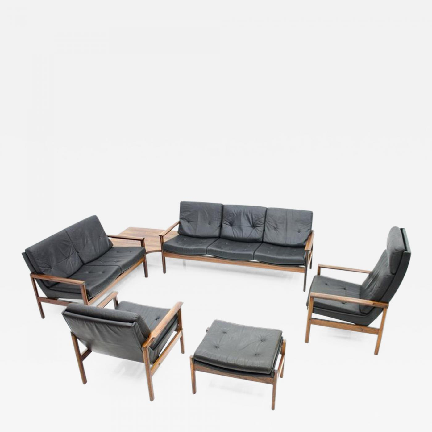 Prime Scandinavian Living Room Set 1970S With 2 Sofas 2 Lounge Chairs And A Stool Inzonedesignstudio Interior Chair Design Inzonedesignstudiocom