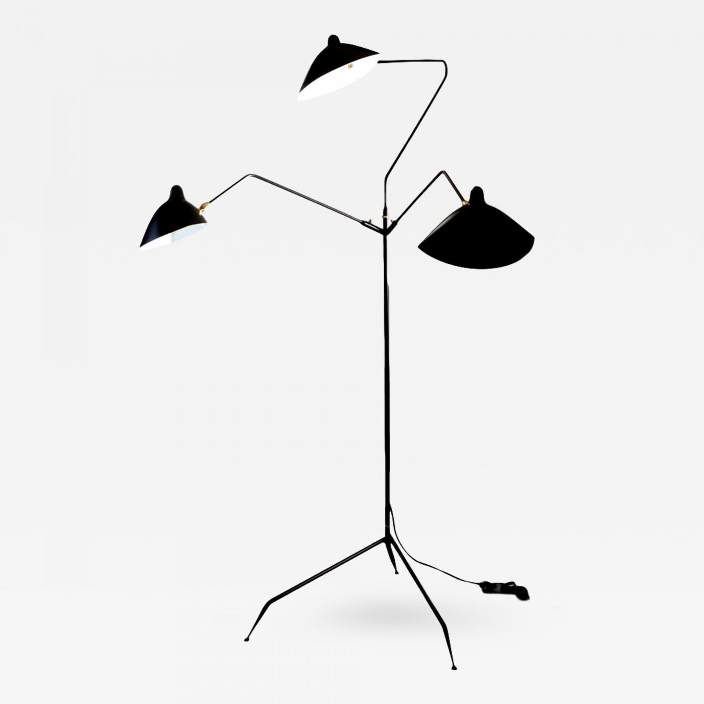 Listings / Furniture / Lighting / Floor Lamps · Serge Mouille ...