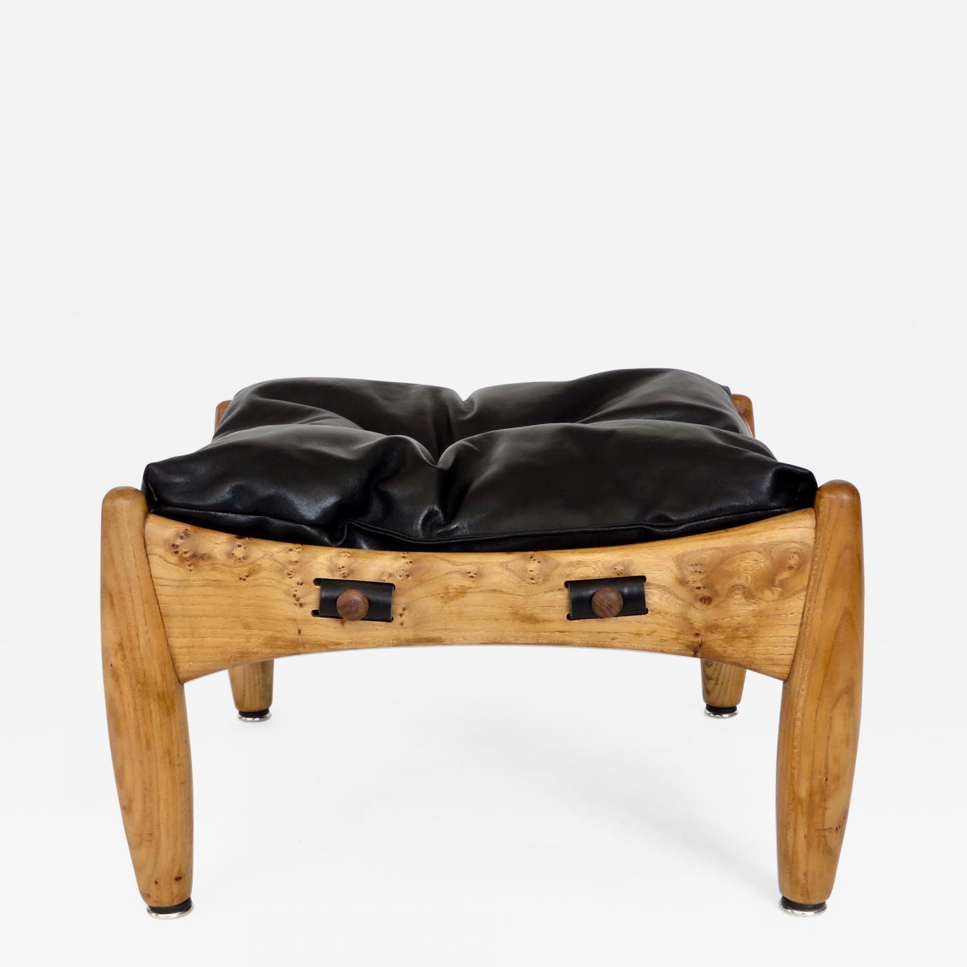 sergio rodrigues sergio rodrigues brazilian design sherrif ottoman or footstool by isa bergamo