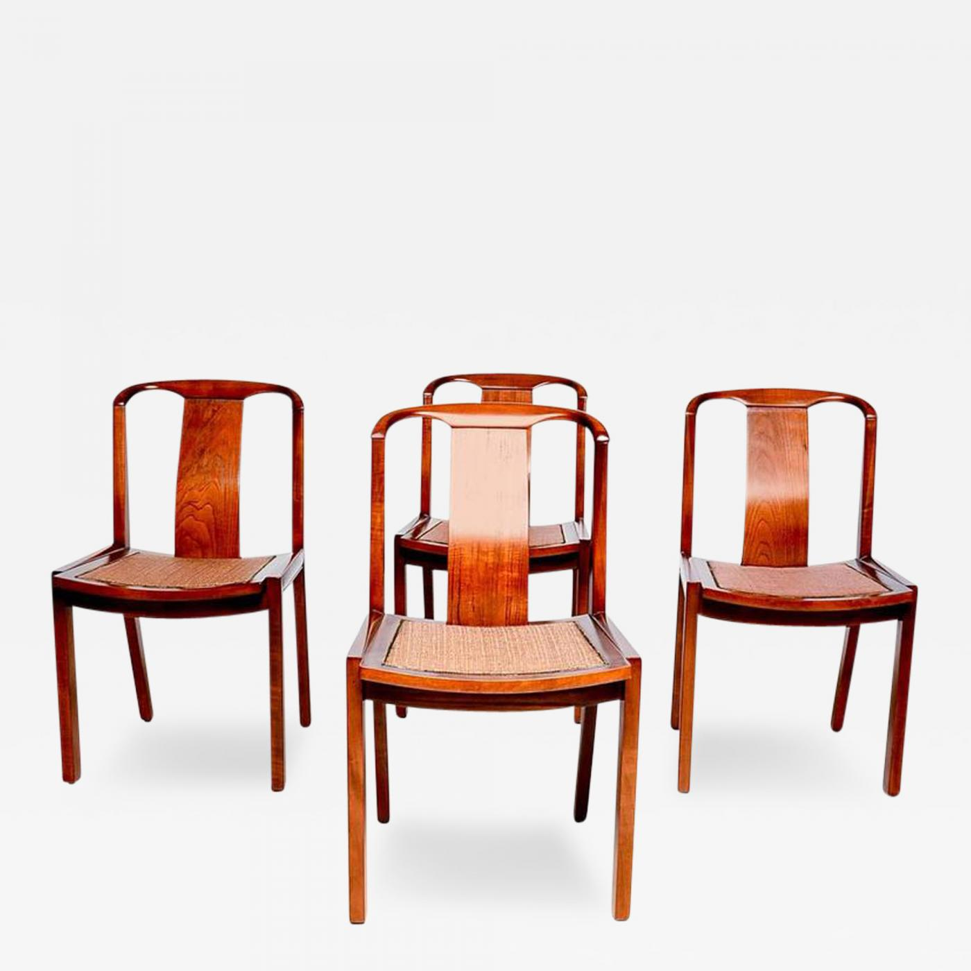 Swell Set Of Four Dining Chairs After Baker Evergreenethics Interior Chair Design Evergreenethicsorg
