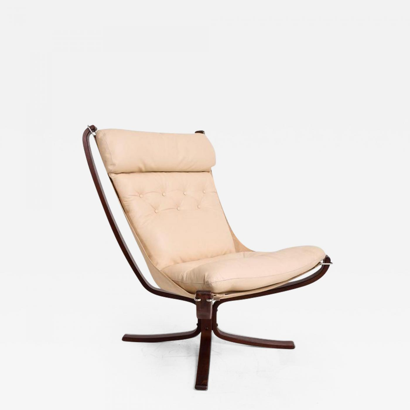 Listings / Furniture / Seating / Lounge Chairs  sc 1 st  Incollect & Sigurd Ressell - Falcon Chair by Westnofa