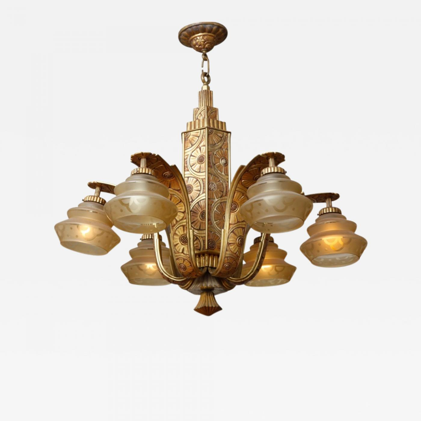 Simonnet french art deco chandelier by simonnet listings furniture lighting chandeliers and pendants simonnet french art deco arubaitofo Choice Image