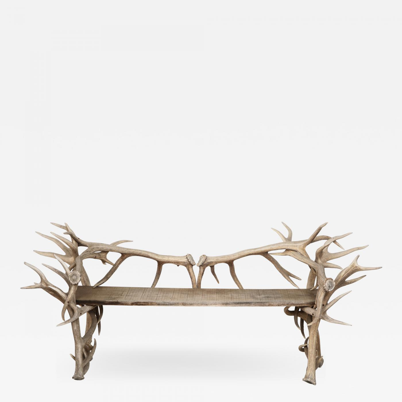 Spectacular Antler Chair / Bench