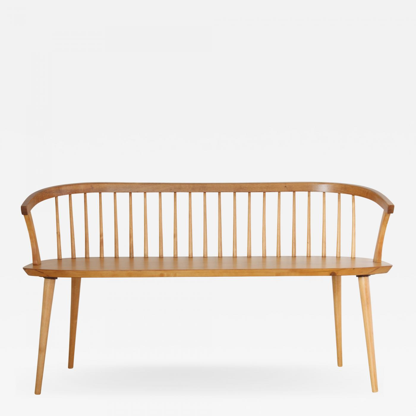 Awesome Spindle Back Wooden Bench Gmtry Best Dining Table And Chair Ideas Images Gmtryco