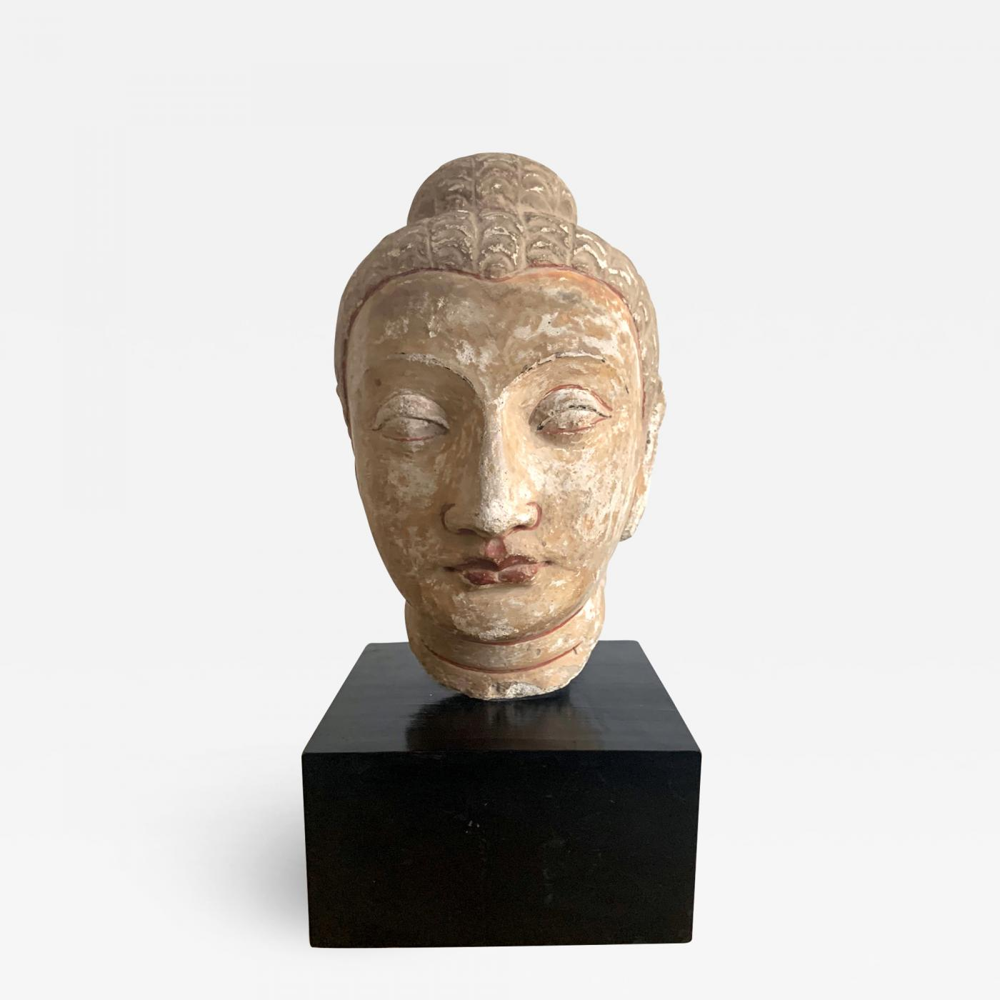 Stone Fragment Of Buddha Gandhara