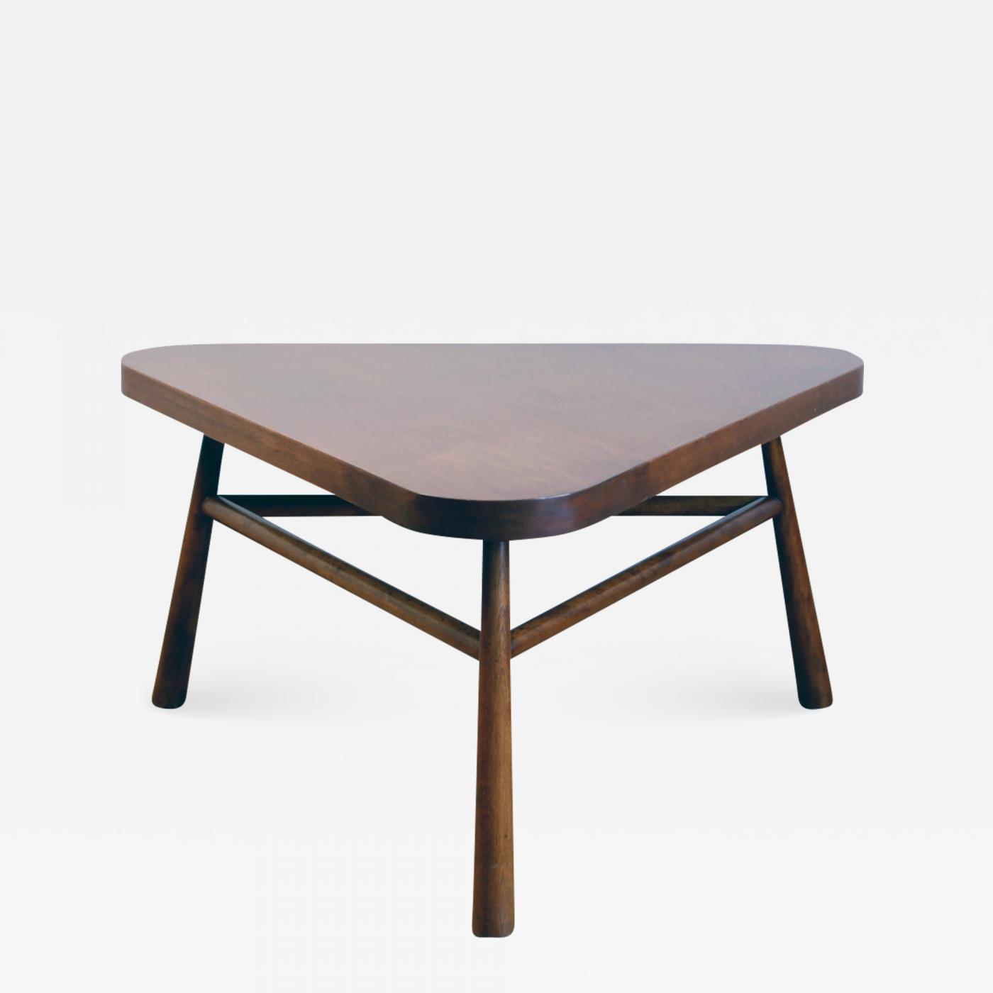- Triangular Coffee Table By TH Robsjohn-Gibbings For Widdicomb