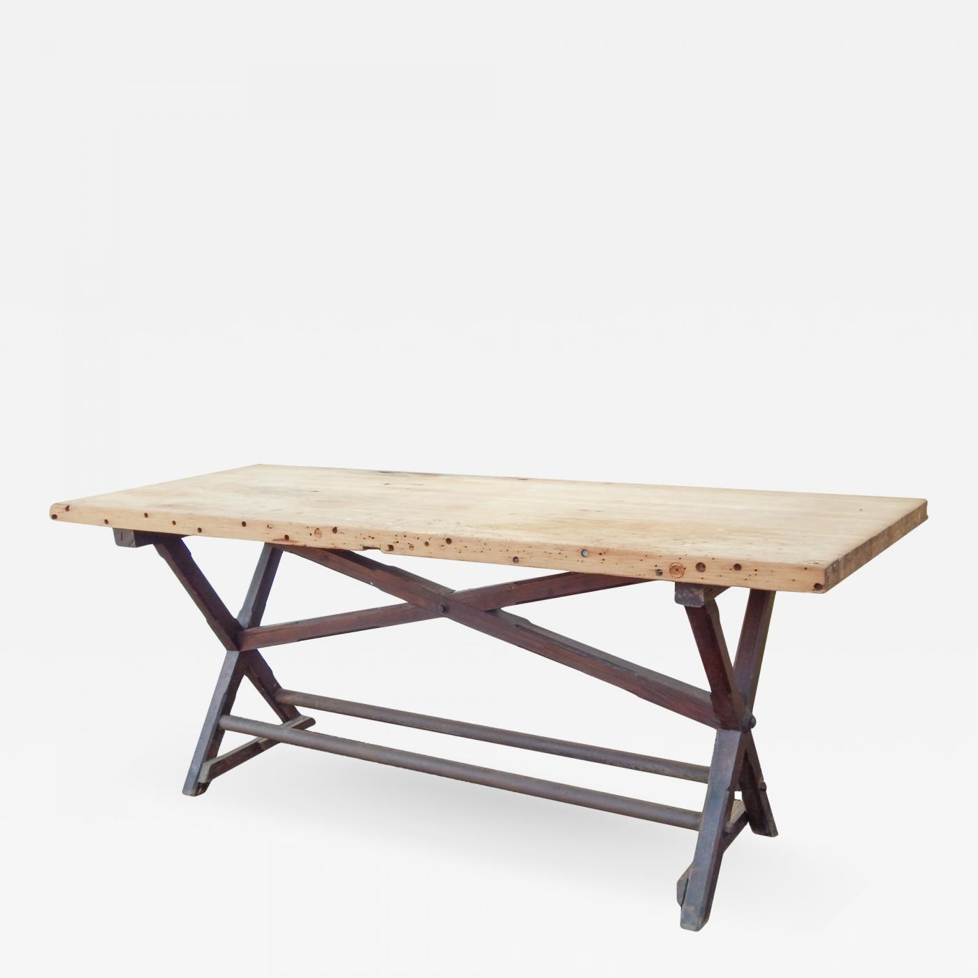 Listings / Furniture / Tables / Console U0026 Pier Tables · Tall Work Table