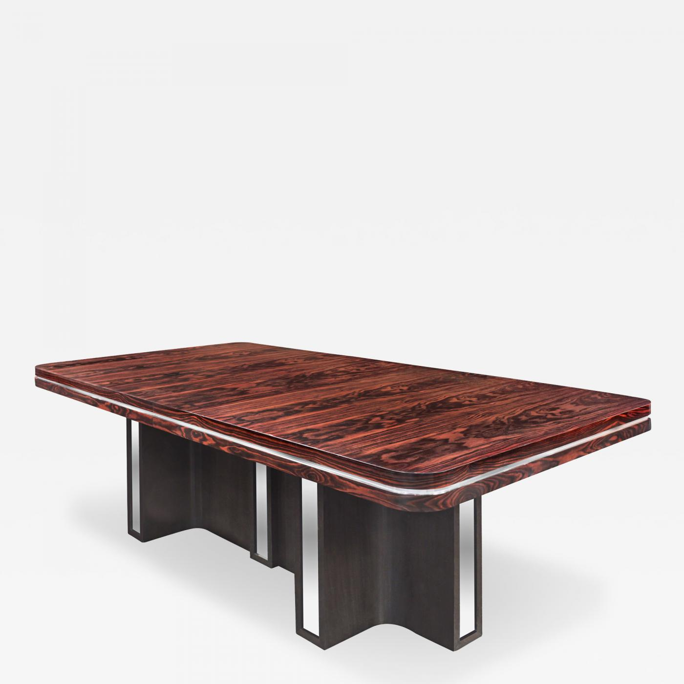Tommi Parzinger Large Extension Dining Table By Tommi