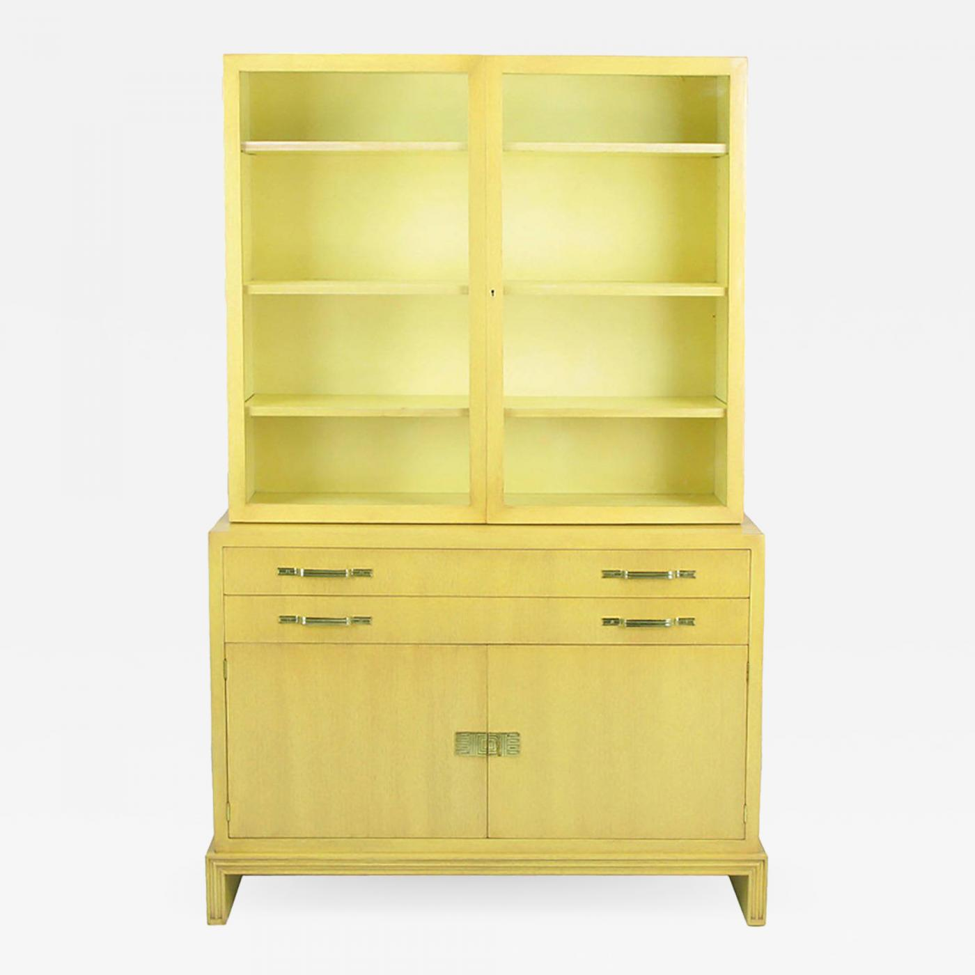Tommi Parzinger for Charak Modern Two Piece Tall Cabinet