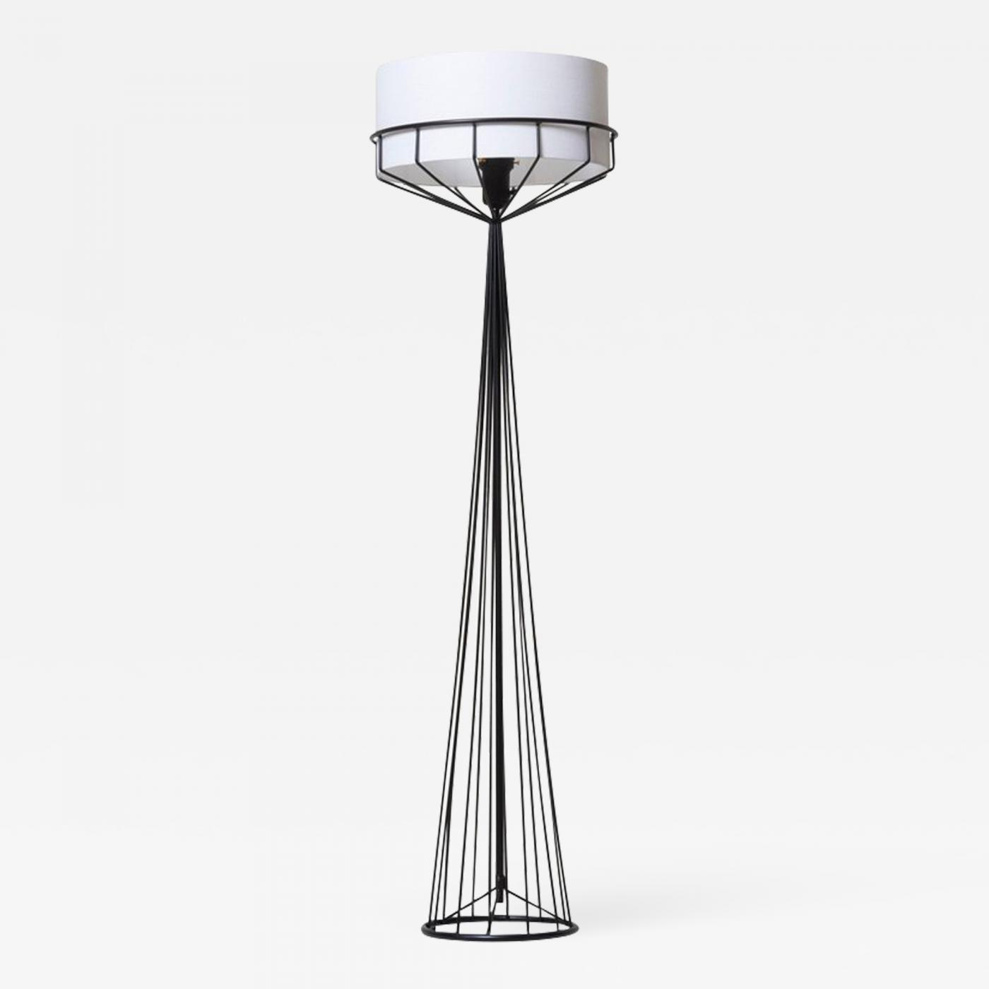 Tony Paul Wires Collection Floor Lamp For The Elton Co Chandelier Wiring Black White Tap To Expand